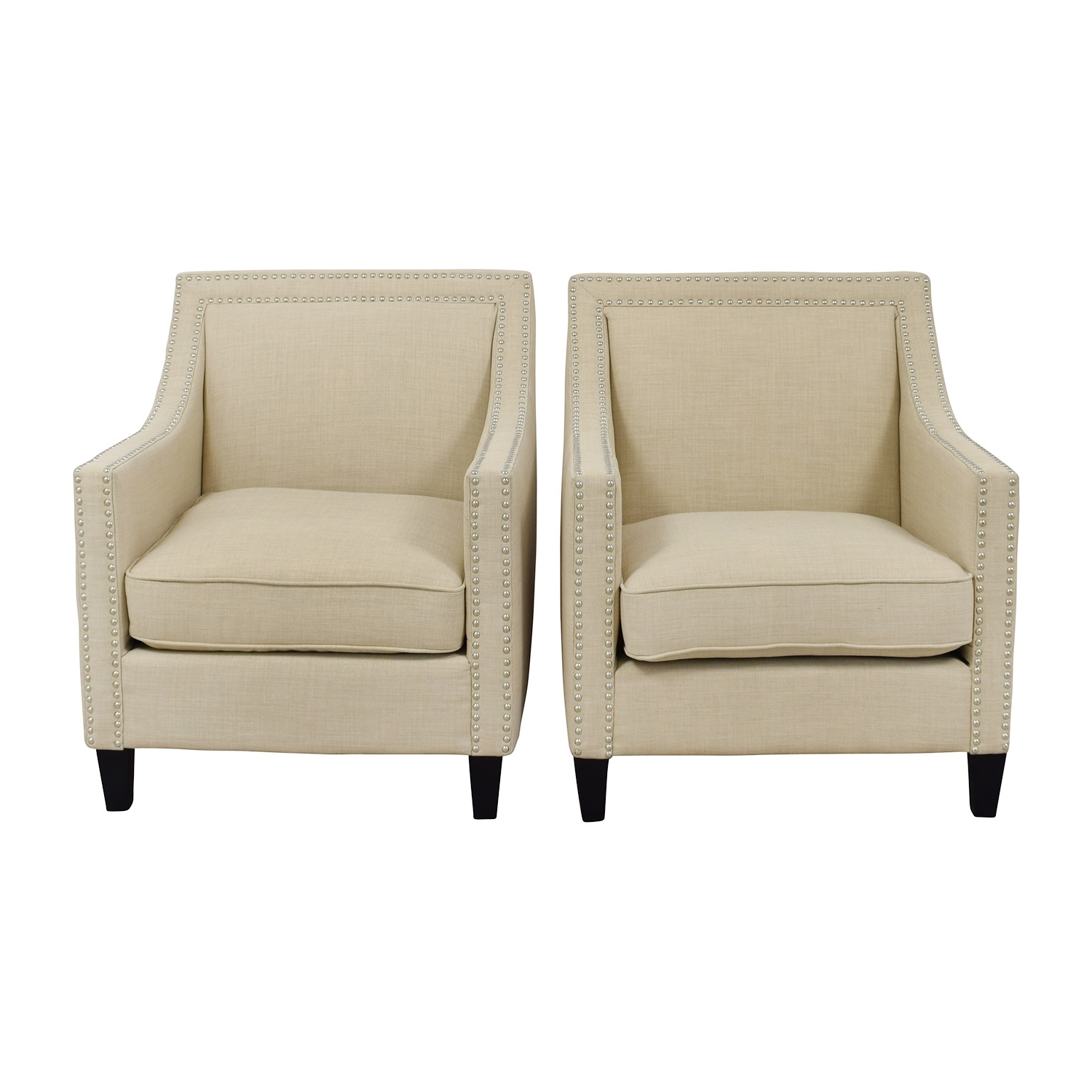 [%67% Off – Studded Beige Sofa Arm Chairs / Chairs Within Current Sofa Arm Chairs|Sofa Arm Chairs With Trendy 67% Off – Studded Beige Sofa Arm Chairs / Chairs|Most Current Sofa Arm Chairs Inside 67% Off – Studded Beige Sofa Arm Chairs / Chairs|Recent 67% Off – Studded Beige Sofa Arm Chairs / Chairs For Sofa Arm Chairs%] (View 7 of 20)