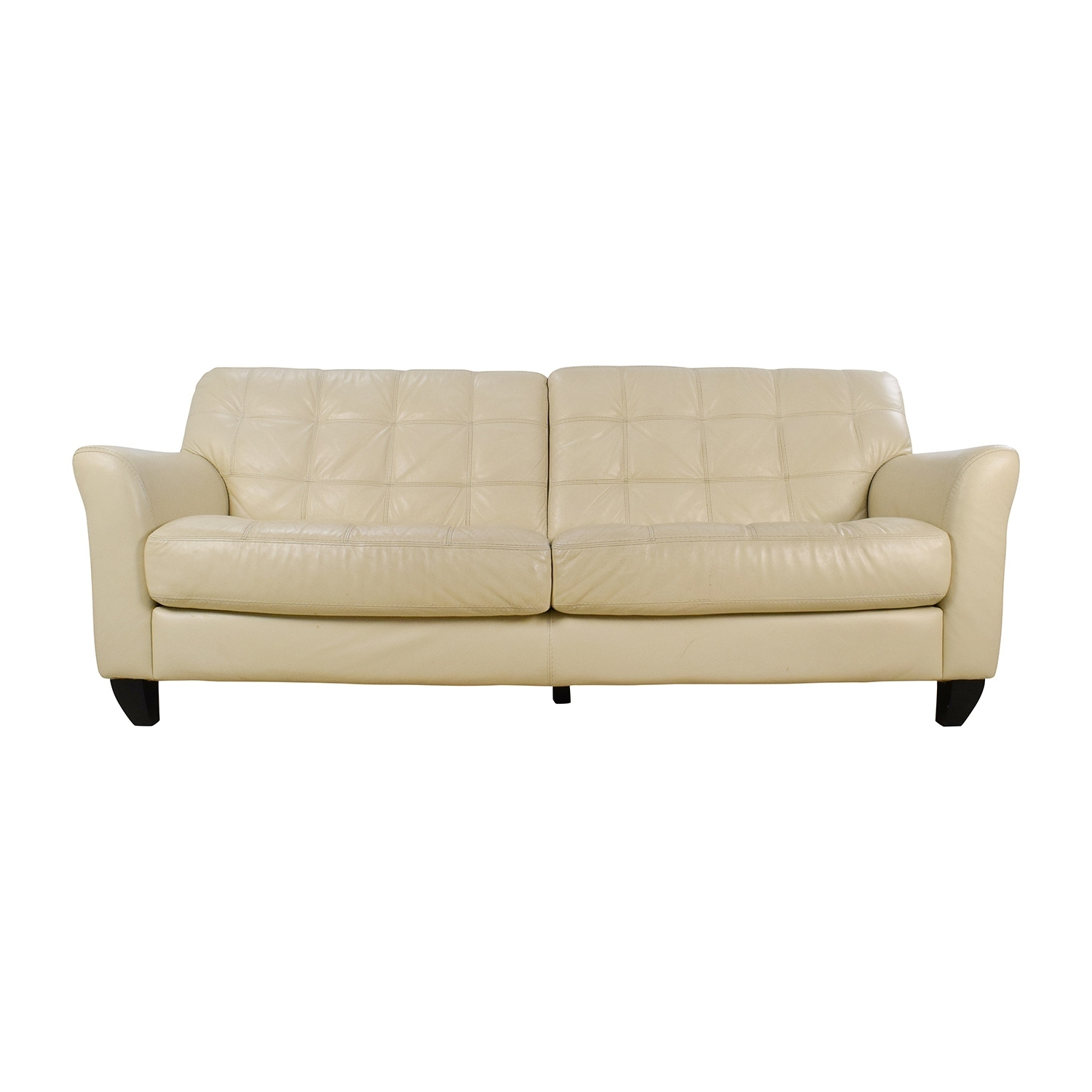 [%68% Off – Macy's Macy's Milan White Leather Couch / Sofas With Latest Off White Leather Sofas|Off White Leather Sofas Inside Trendy 68% Off – Macy's Macy's Milan White Leather Couch / Sofas|2019 Off White Leather Sofas Inside 68% Off – Macy's Macy's Milan White Leather Couch / Sofas|Famous 68% Off – Macy's Macy's Milan White Leather Couch / Sofas In Off White Leather Sofas%] (View 2 of 20)