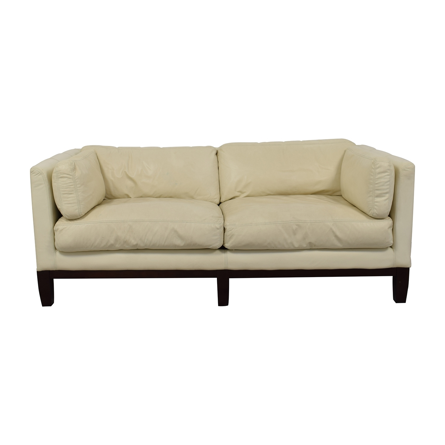 [%72% Off – Decoro Decoro Off White Leather Sofa / Sofas With 2019 Off White Leather Sofas|Off White Leather Sofas Pertaining To Widely Used 72% Off – Decoro Decoro Off White Leather Sofa / Sofas|Well Liked Off White Leather Sofas Within 72% Off – Decoro Decoro Off White Leather Sofa / Sofas|Famous 72% Off – Decoro Decoro Off White Leather Sofa / Sofas Regarding Off White Leather Sofas%] (View 3 of 20)