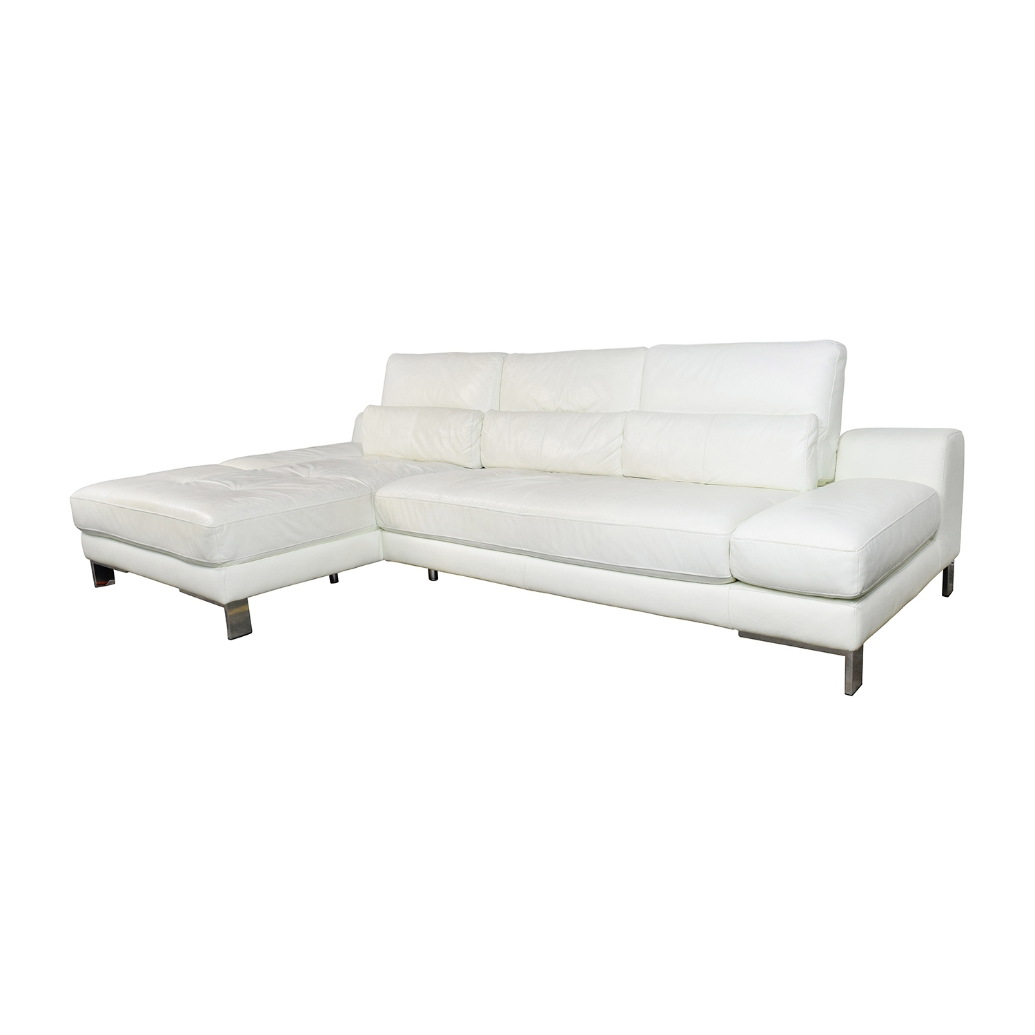 [%72% Off – Mobilia Canada Mobilia Canada Funktion White Leather Regarding Popular Mobilia Sectional Sofas|mobilia Sectional Sofas Throughout 2019 72% Off – Mobilia Canada Mobilia Canada Funktion White Leather|most Recent Mobilia Sectional Sofas For 72% Off – Mobilia Canada Mobilia Canada Funktion White Leather|preferred 72% Off – Mobilia Canada Mobilia Canada Funktion White Leather Pertaining To Mobilia Sectional Sofas%] (View 3 of 20)