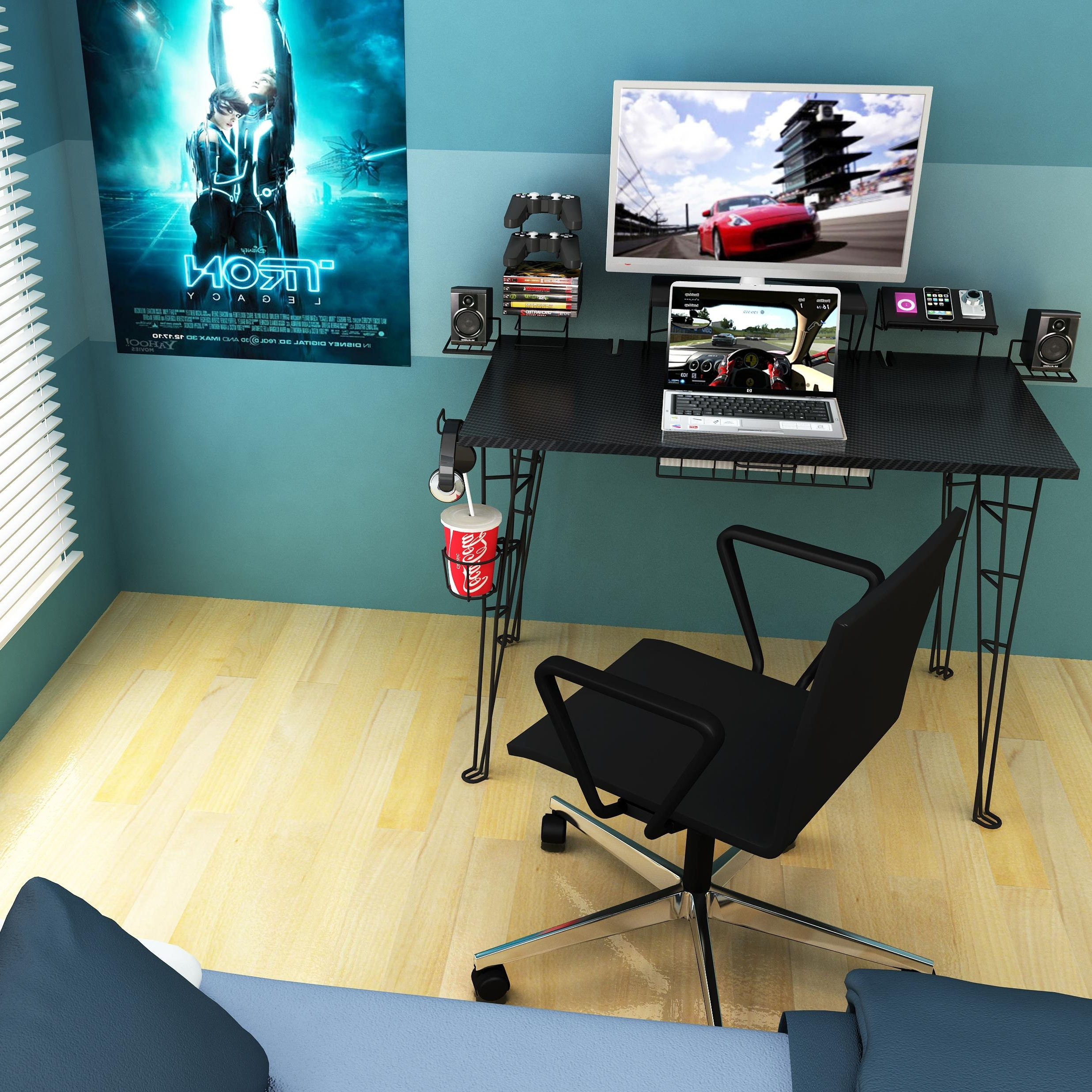 76 Most Bang Up Best Home Office Desk Cool Computer Desks Cheap Within Most Recent Computer Gaming Desks For Home (View 4 of 20)