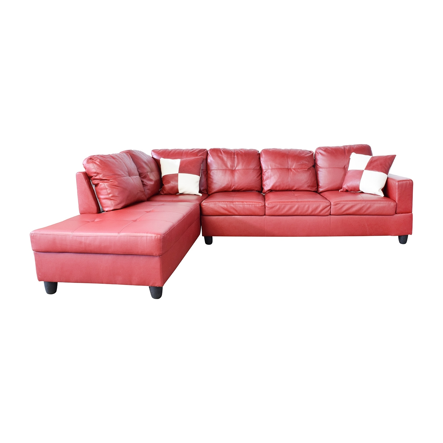 [%76% Off – Beverly Furniture Beverly Furniture Red Faux Leather With Latest Red Faux Leather Sectionals|red Faux Leather Sectionals For Popular 76% Off – Beverly Furniture Beverly Furniture Red Faux Leather|popular Red Faux Leather Sectionals For 76% Off – Beverly Furniture Beverly Furniture Red Faux Leather|most Current 76% Off – Beverly Furniture Beverly Furniture Red Faux Leather Pertaining To Red Faux Leather Sectionals%] (View 14 of 20)