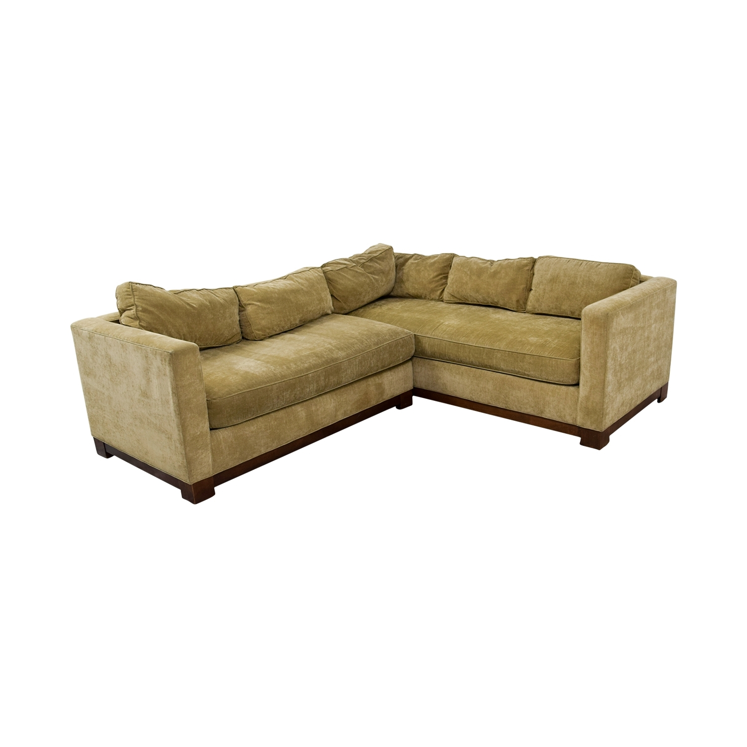 [%84% Off – Mitchell Gold + Bob Williams Mitchell Gold + Bob Intended For Famous Gold Sectional Sofas|Gold Sectional Sofas Inside Newest 84% Off – Mitchell Gold + Bob Williams Mitchell Gold + Bob|2018 Gold Sectional Sofas Inside 84% Off – Mitchell Gold + Bob Williams Mitchell Gold + Bob|Popular 84% Off – Mitchell Gold + Bob Williams Mitchell Gold + Bob Regarding Gold Sectional Sofas%] (View 10 of 20)