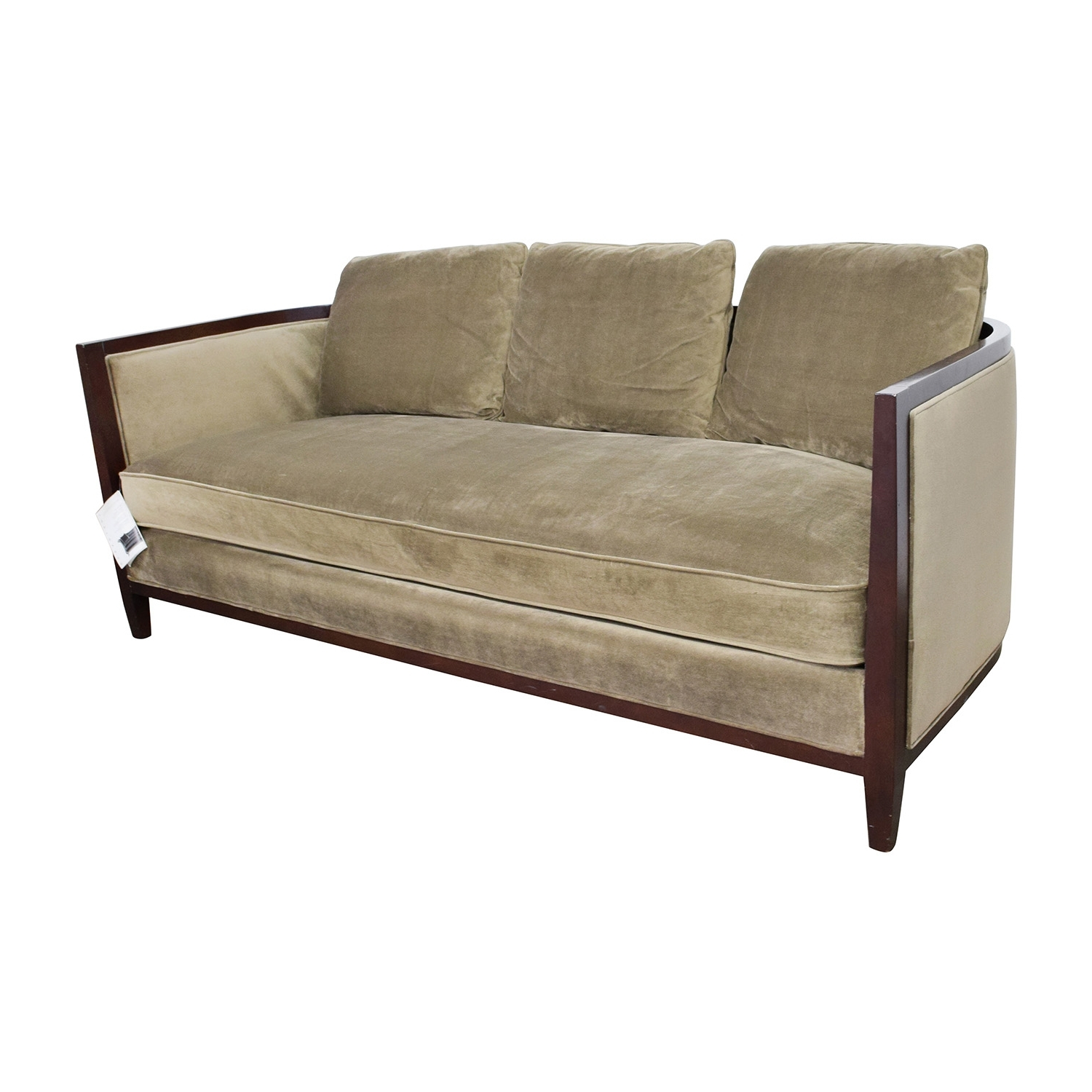 [%85% Off – Bernhardt Bernhardt Tan Single Cushion Sofa / Sofas Throughout Favorite One Cushion Sofas|One Cushion Sofas Regarding Most Popular 85% Off – Bernhardt Bernhardt Tan Single Cushion Sofa / Sofas|Widely Used One Cushion Sofas With 85% Off – Bernhardt Bernhardt Tan Single Cushion Sofa / Sofas|Well Known 85% Off – Bernhardt Bernhardt Tan Single Cushion Sofa / Sofas In One Cushion Sofas%] (View 15 of 20)