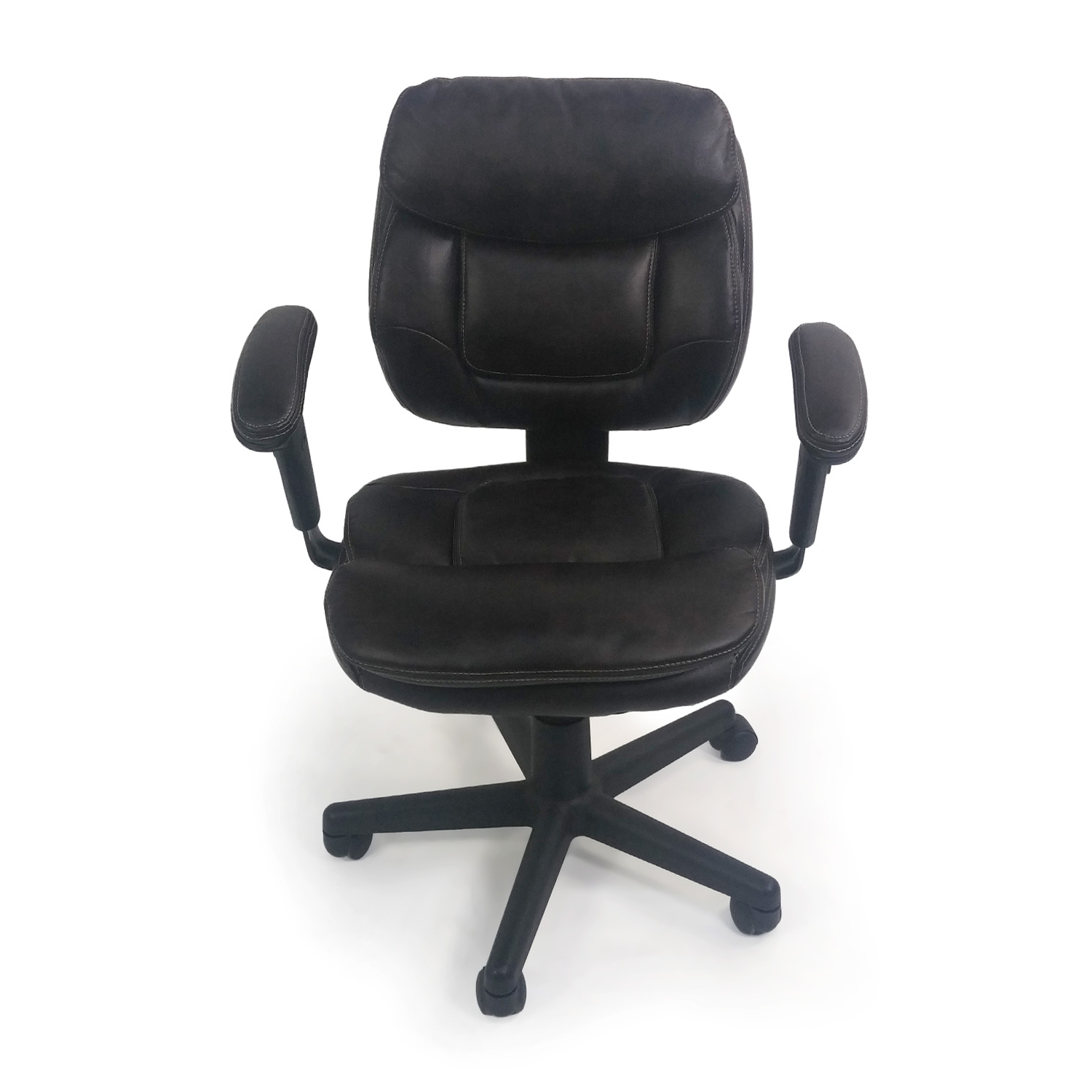 [%86% Off – Plush Faux Leather Office Chair / Chairs Within Recent Plush Executive Office Chairs|Plush Executive Office Chairs Throughout Famous 86% Off – Plush Faux Leather Office Chair / Chairs|Recent Plush Executive Office Chairs In 86% Off – Plush Faux Leather Office Chair / Chairs|2018 86% Off – Plush Faux Leather Office Chair / Chairs With Regard To Plush Executive Office Chairs%] (View 1 of 20)