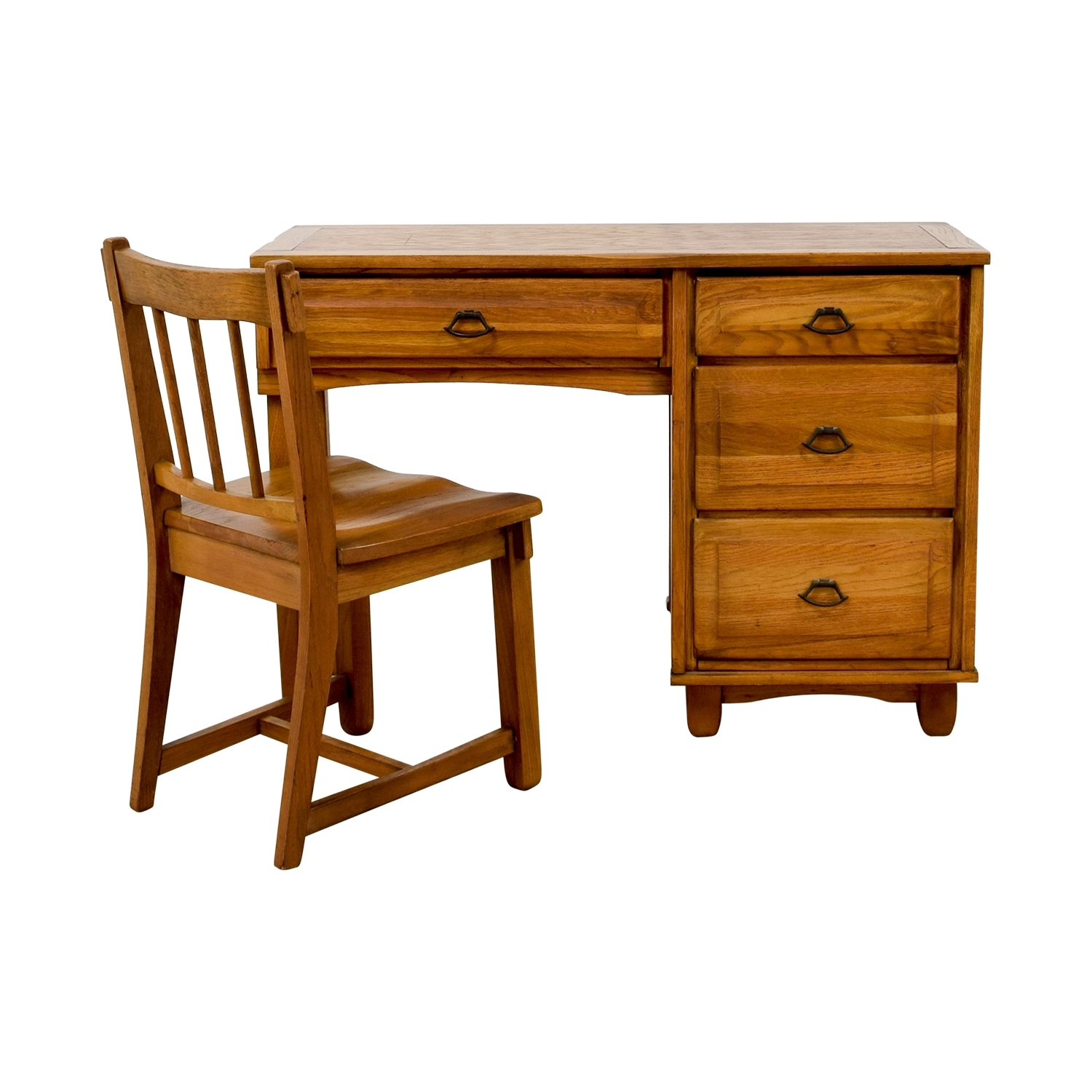 [%86% Off – Vintage Oak Desk With Chair / Tables Pertaining To Most Recently Released Vintage Computer Desks|Vintage Computer Desks Inside Famous 86% Off – Vintage Oak Desk With Chair / Tables|Fashionable Vintage Computer Desks Throughout 86% Off – Vintage Oak Desk With Chair / Tables|Well Liked 86% Off – Vintage Oak Desk With Chair / Tables Regarding Vintage Computer Desks%] (View 1 of 20)