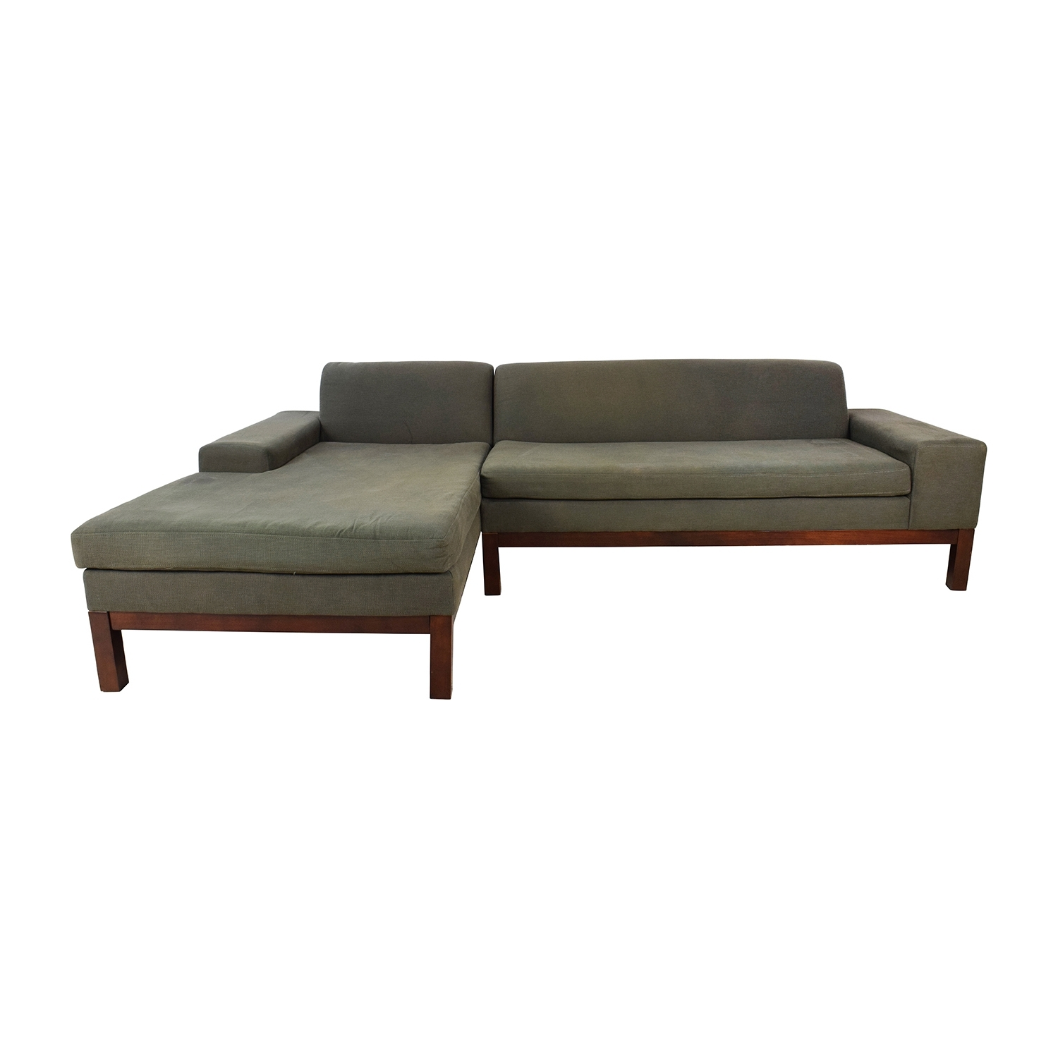 [%86% Off – West Elm West Elm Lorimer Green Sectional / Sofas Intended For Best And Newest Green Sectional Sofas With Chaise|Green Sectional Sofas With Chaise With Regard To Preferred 86% Off – West Elm West Elm Lorimer Green Sectional / Sofas|Well Known Green Sectional Sofas With Chaise Intended For 86% Off – West Elm West Elm Lorimer Green Sectional / Sofas|Most Up To Date 86% Off – West Elm West Elm Lorimer Green Sectional / Sofas Inside Green Sectional Sofas With Chaise%] (View 20 of 20)