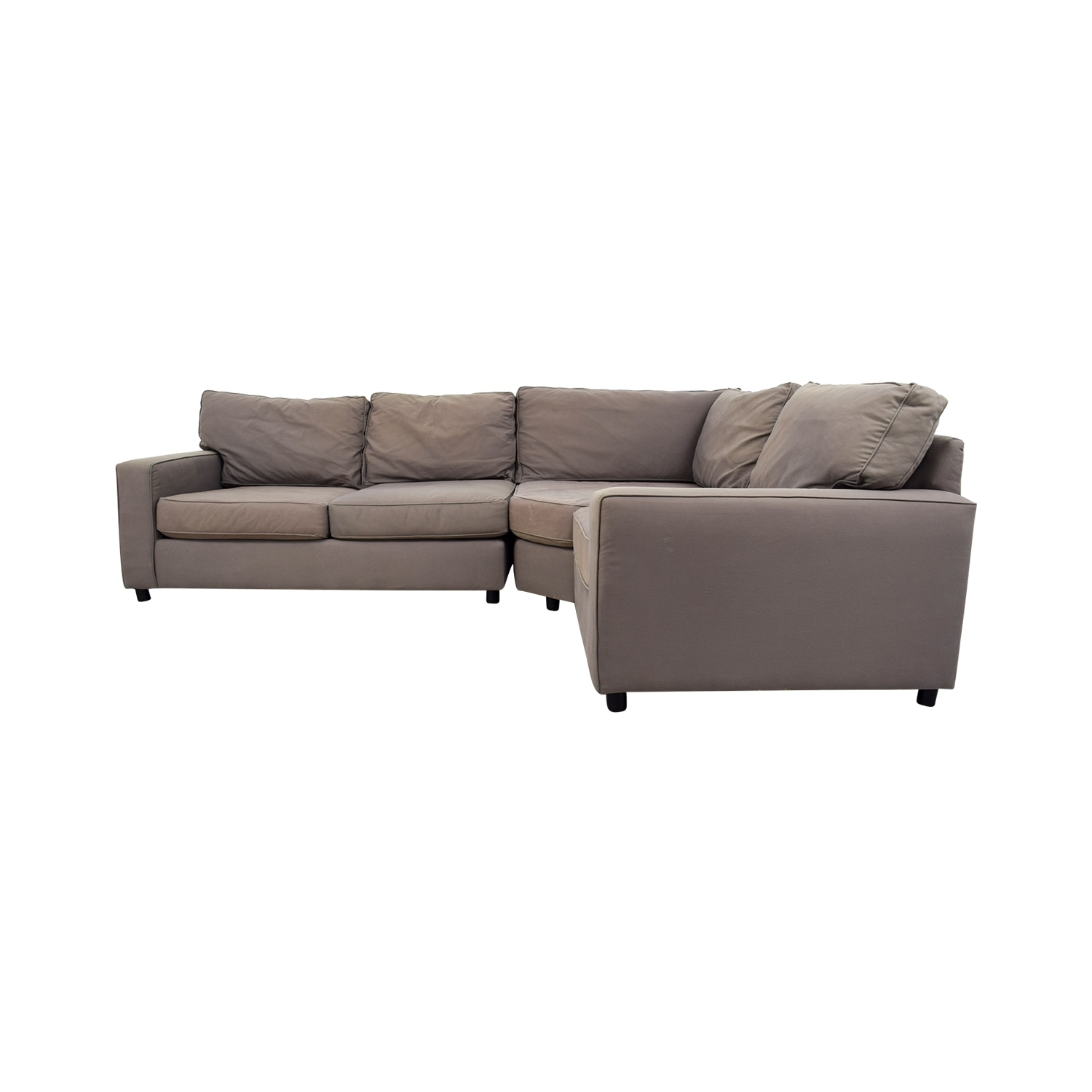 [%90% Off – Pottery Barn Pottery Barn Grey Sectional Sofa / Sofas Within Trendy Used Sectional Sofas|Used Sectional Sofas Throughout Well Known 90% Off – Pottery Barn Pottery Barn Grey Sectional Sofa / Sofas|Newest Used Sectional Sofas Regarding 90% Off – Pottery Barn Pottery Barn Grey Sectional Sofa / Sofas|Latest 90% Off – Pottery Barn Pottery Barn Grey Sectional Sofa / Sofas Inside Used Sectional Sofas%] (View 2 of 20)