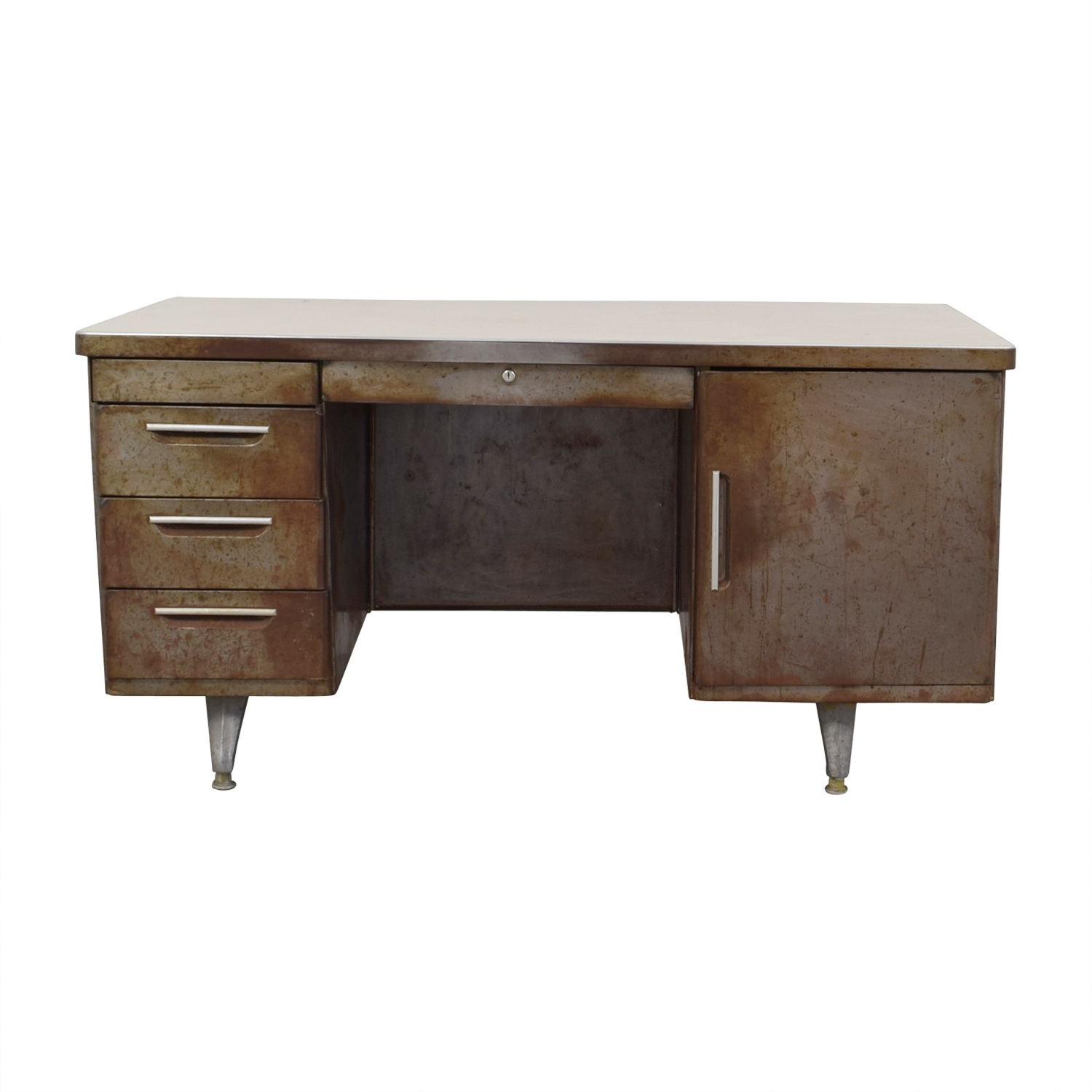 [%90% Off – Shaw Walker Shaw Walker Rustic Metal Desk / Tables For Most Recently Released Rustic Computer Desks|Rustic Computer Desks Pertaining To Most Popular 90% Off – Shaw Walker Shaw Walker Rustic Metal Desk / Tables|Newest Rustic Computer Desks Inside 90% Off – Shaw Walker Shaw Walker Rustic Metal Desk / Tables|Favorite 90% Off – Shaw Walker Shaw Walker Rustic Metal Desk / Tables Throughout Rustic Computer Desks%] (View 19 of 20)