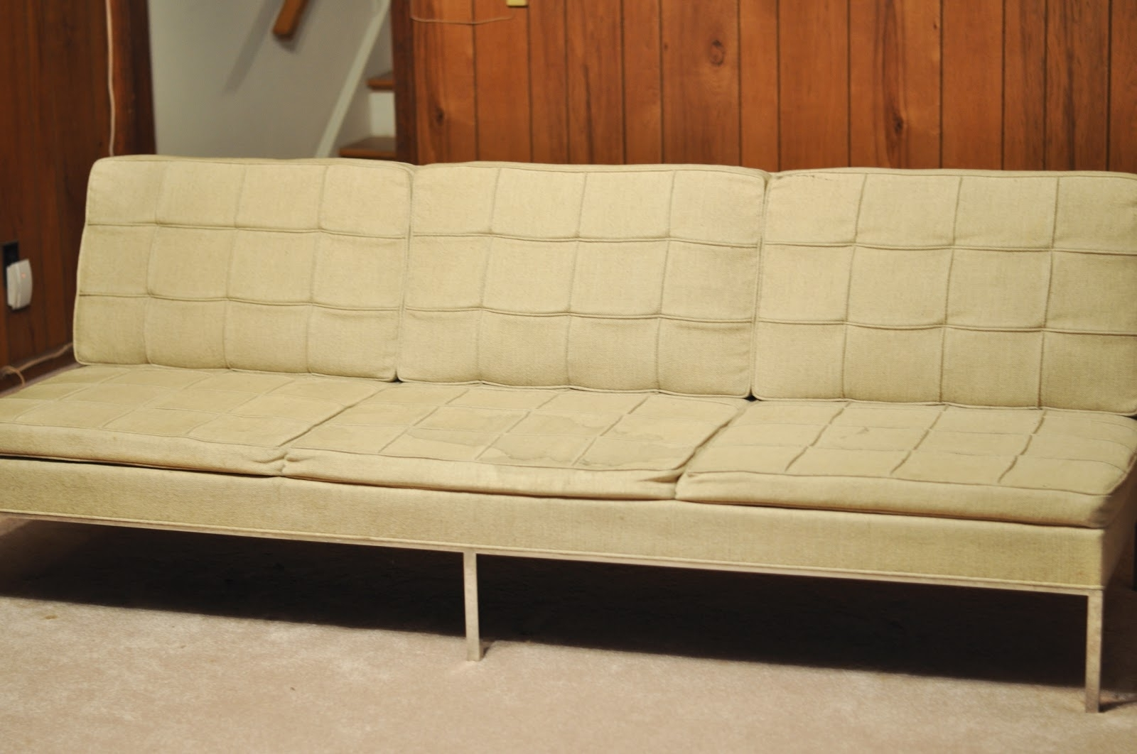 A Treasure In Storage: The Florence Knoll Sofa Comes Home Pertaining To Most Popular Florence Knoll Fabric Sofas (View 1 of 20)