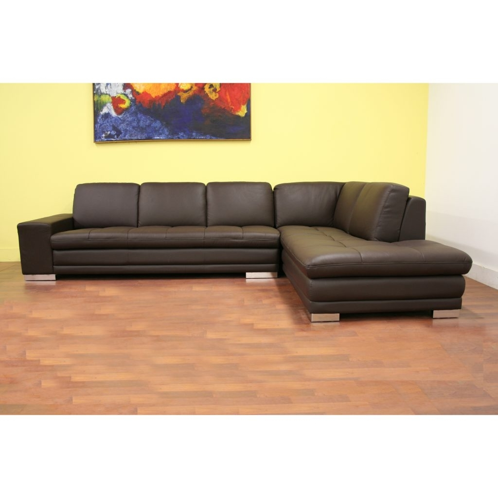 Abbieht Chaise Sectional Sofa With Large Cushionsengland Ivy With Preferred Regina Sectional Sofas (View 1 of 20)