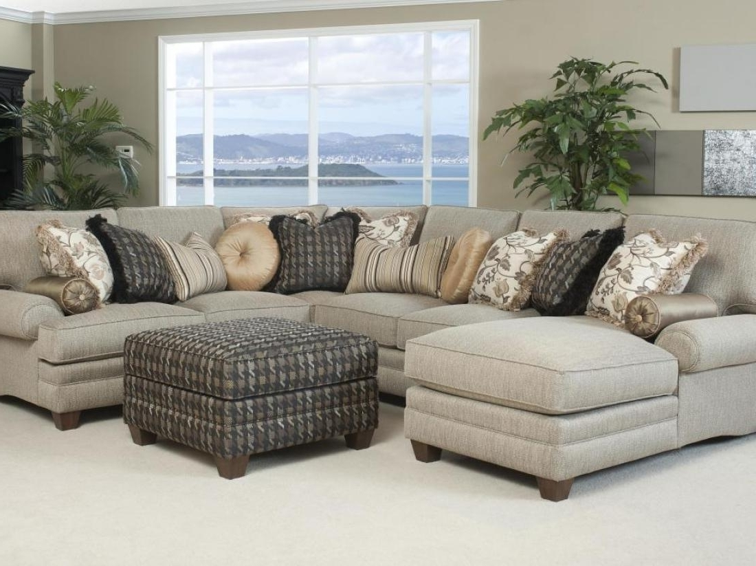 Abbyson Sectional Sofas Pertaining To Preferred Stylish Abbyson Living Charlotte Dark Brown Sectional Sofa And (View 8 of 20)