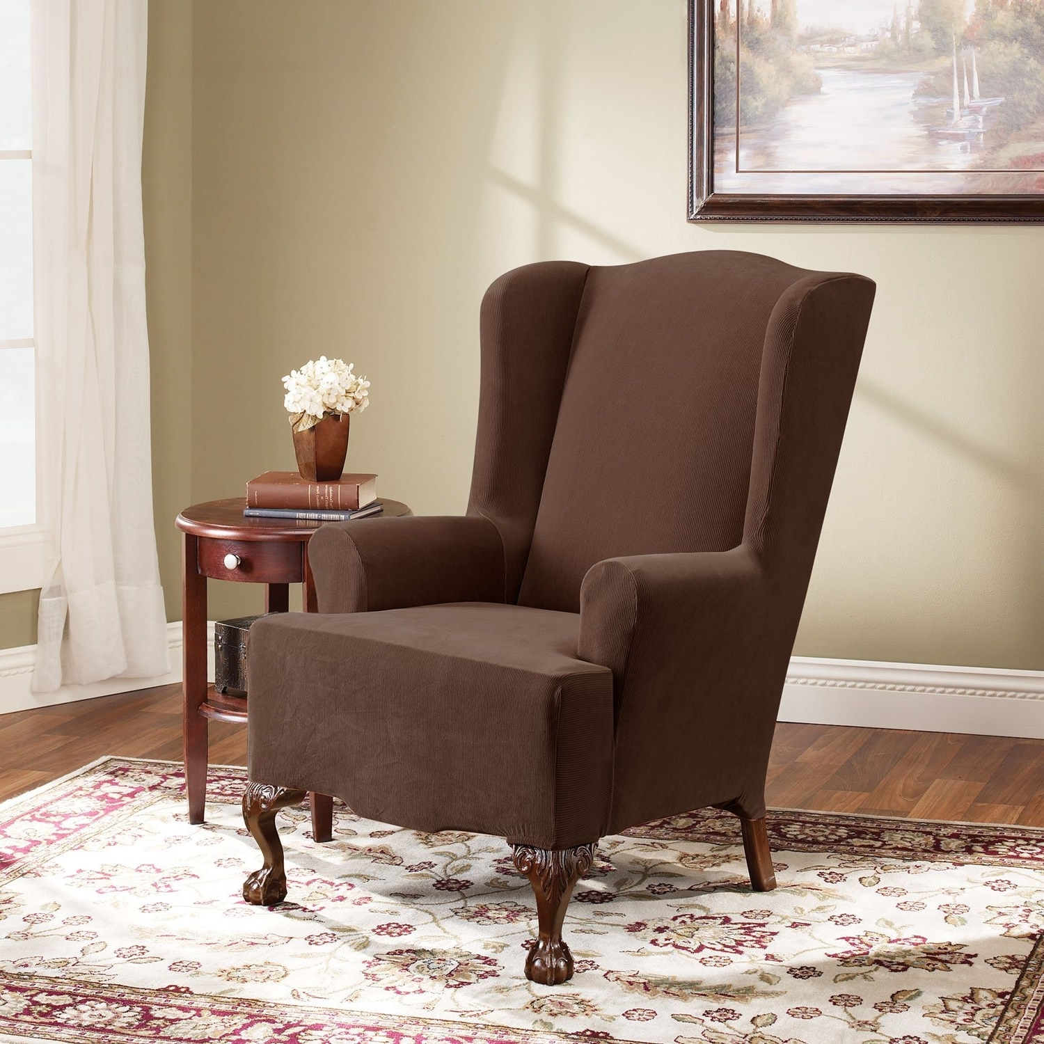 Add Style To Your Home With Upholstered Chairs For Living Room In Most Recent Single Sofa Chairs (View 2 of 20)