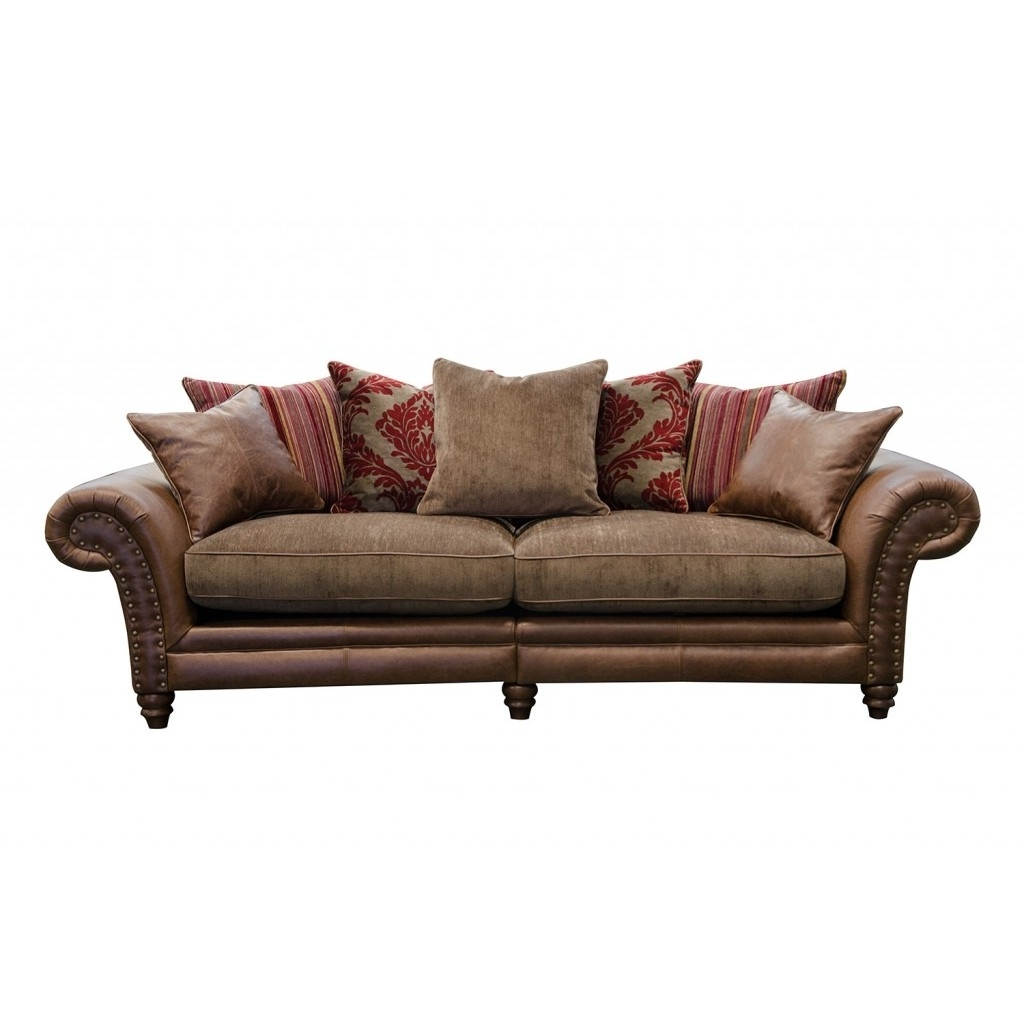 Alexander & James Hudson 4 Seater Sofa Option 1 – The Place For Homes Inside Most Recently Released 4 Seat Sofas (View 8 of 20)