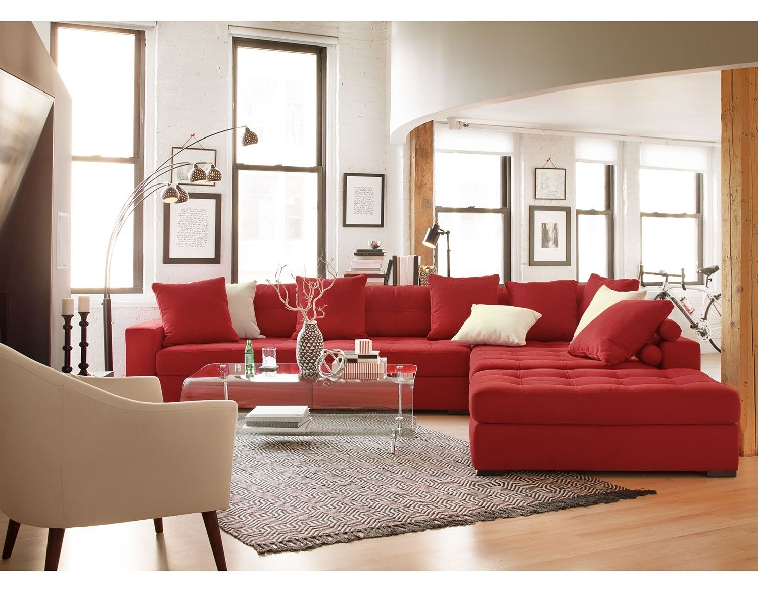 American Signature Furniture With Sectional Sofas That Can Be Rearranged (View 8 of 20)