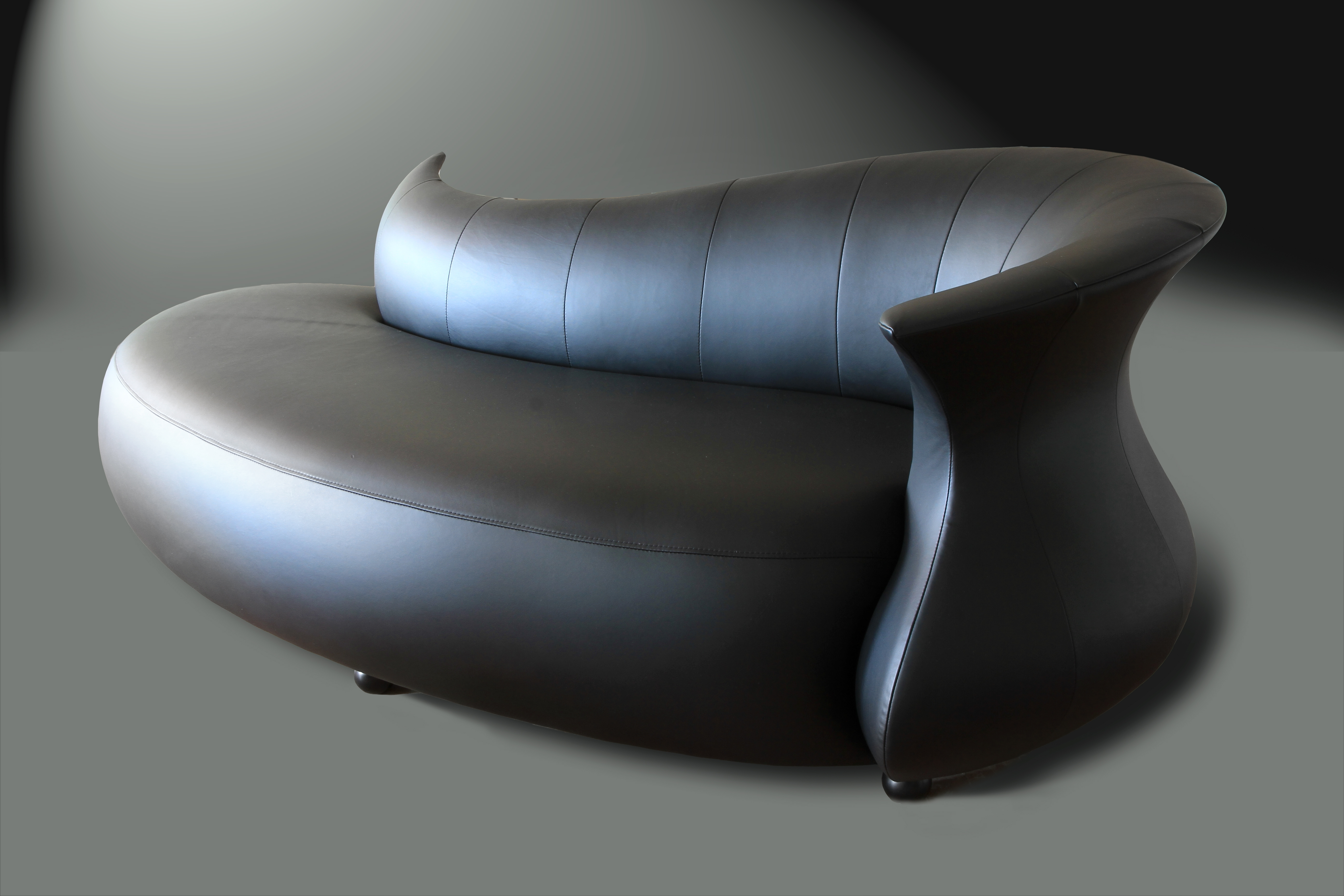 Amphora Modern Chaise Lounge Sofa (View 18 of 20)