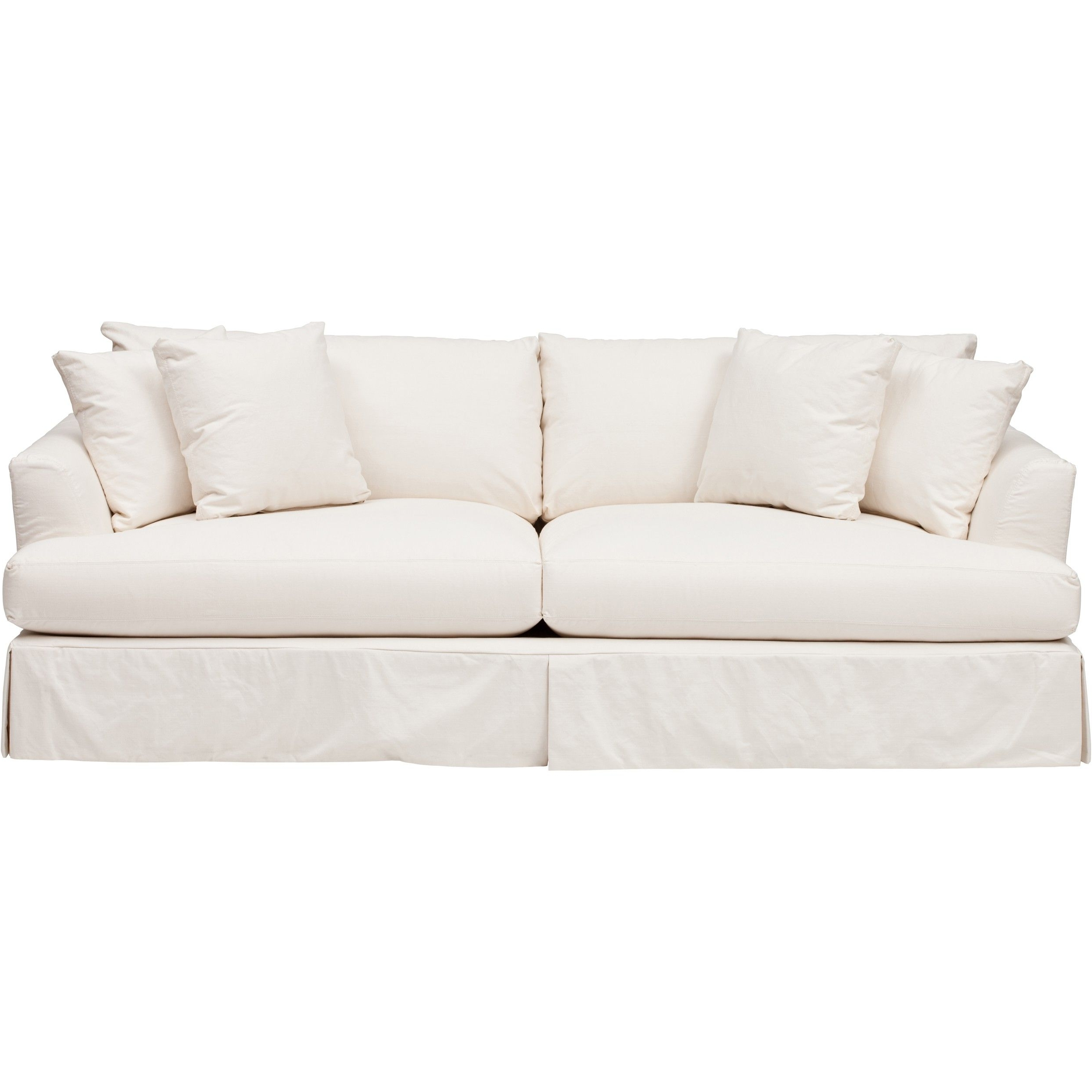 Andre Slipcover Sofa – Furniture – Sofas – Fabric – Slipcovers Pertaining To Most Popular Slipcovers Sofas (View 9 of 20)