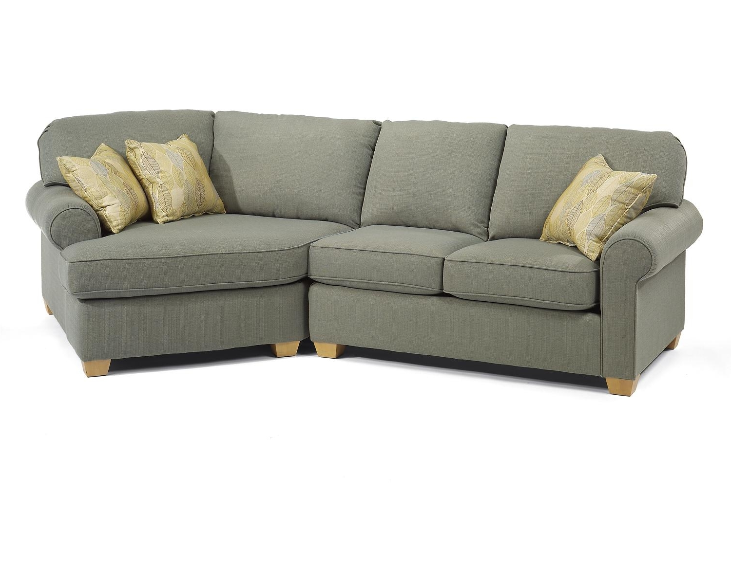Angled Chaise Sofas Throughout Most Recent Angled Chaise Sofa – Plymouth Furniture (View 7 of 20)