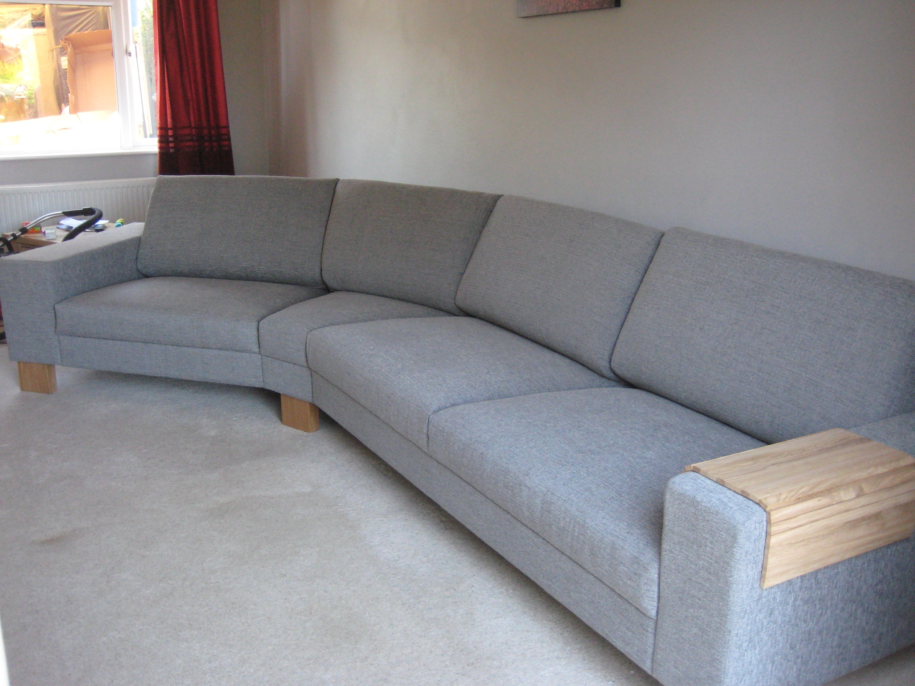 Another View Of The Corylus Left Hand Arm Sofa Plus 45 Degree In Widely Used Wide Seat Sectional Sofas (View 5 of 20)
