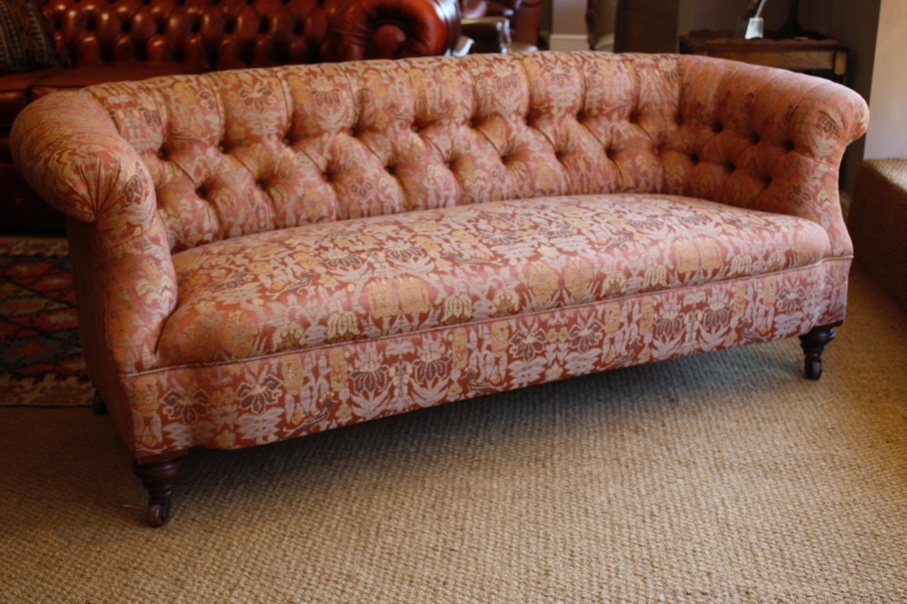 Antique Sofas Within Well Liked Victorian 'ibsen' Antique Sofa, Leather Chairs Of Bath, Antique (View 6 of 20)