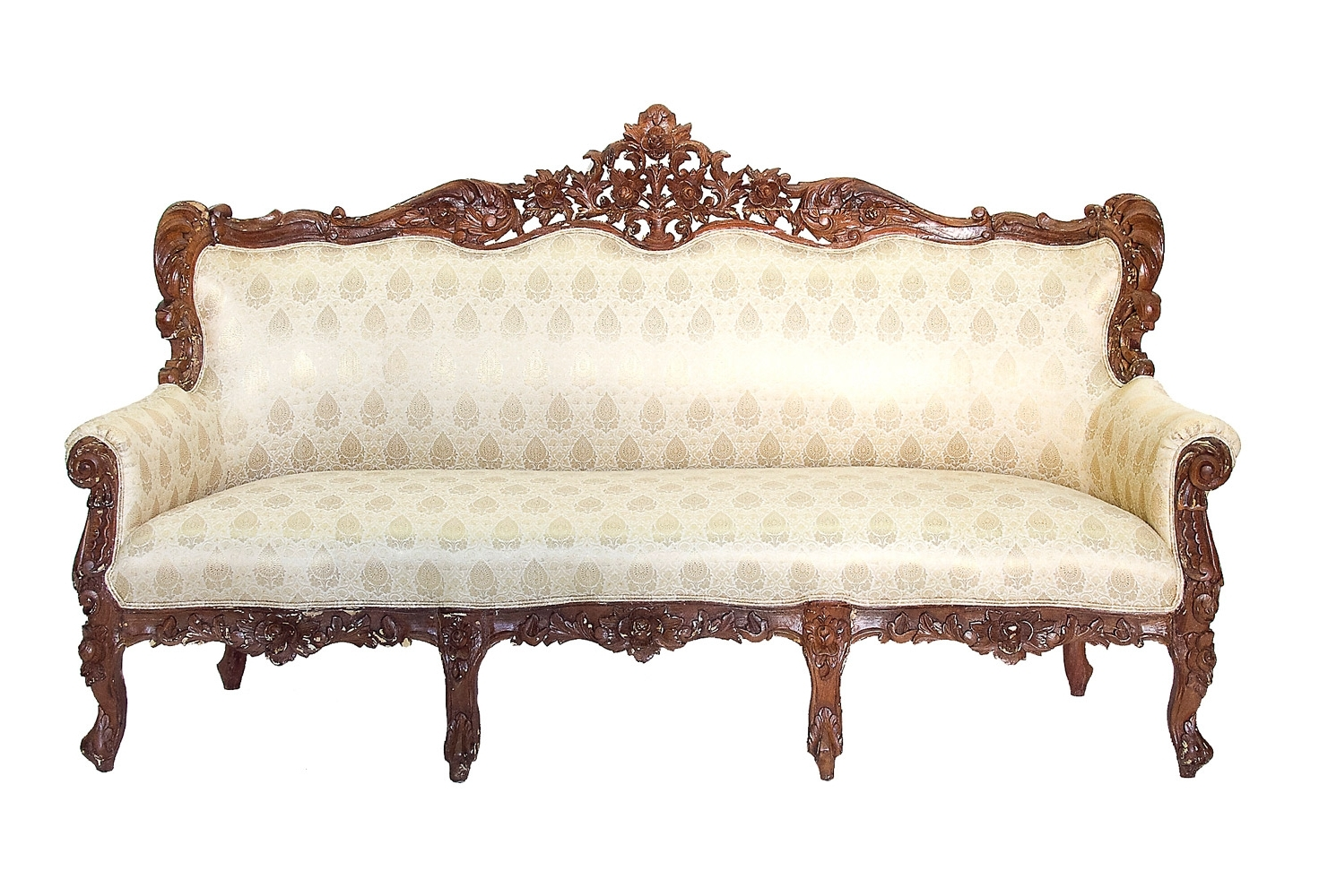 Antique Victorian Sofa (View 4 of 20)