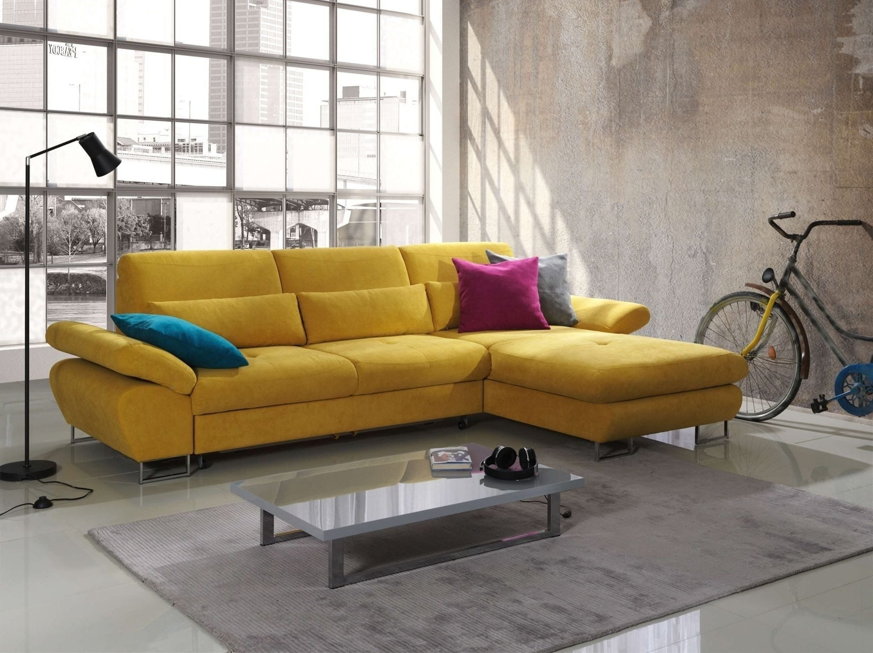 Apartment Sectional Sofas With Chaise Intended For Fashionable Stunning Apartment Size Sectional Sofa With Chaise Ideas (View 4 of 20)