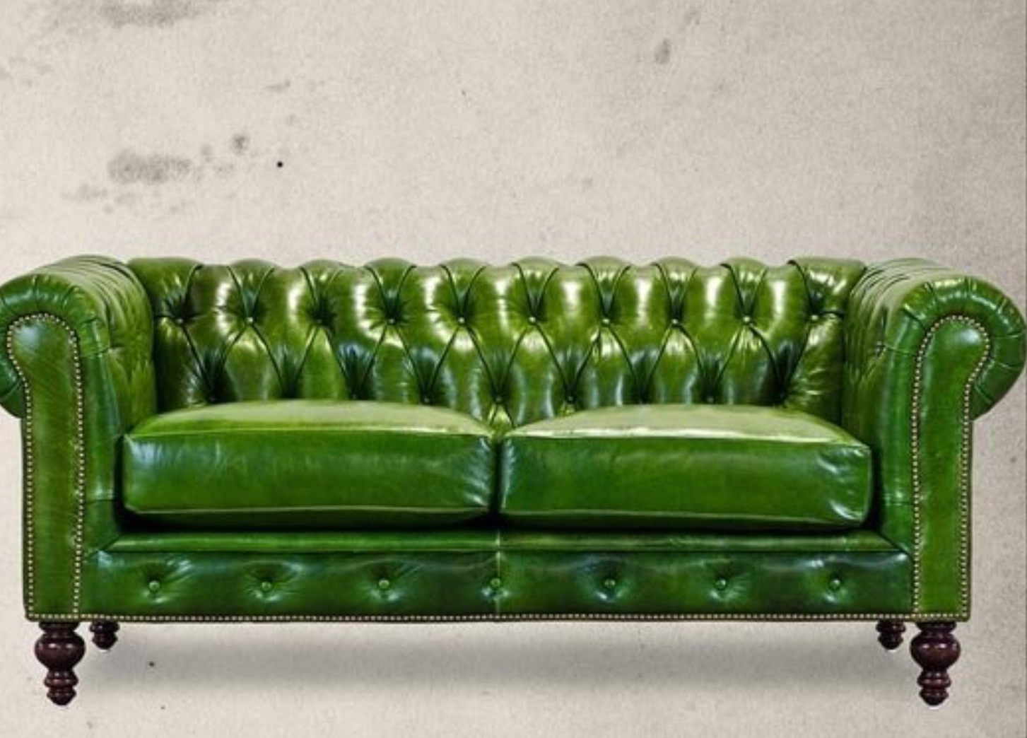 Apple Green Chesterfield Sofa (View 2 of 20)