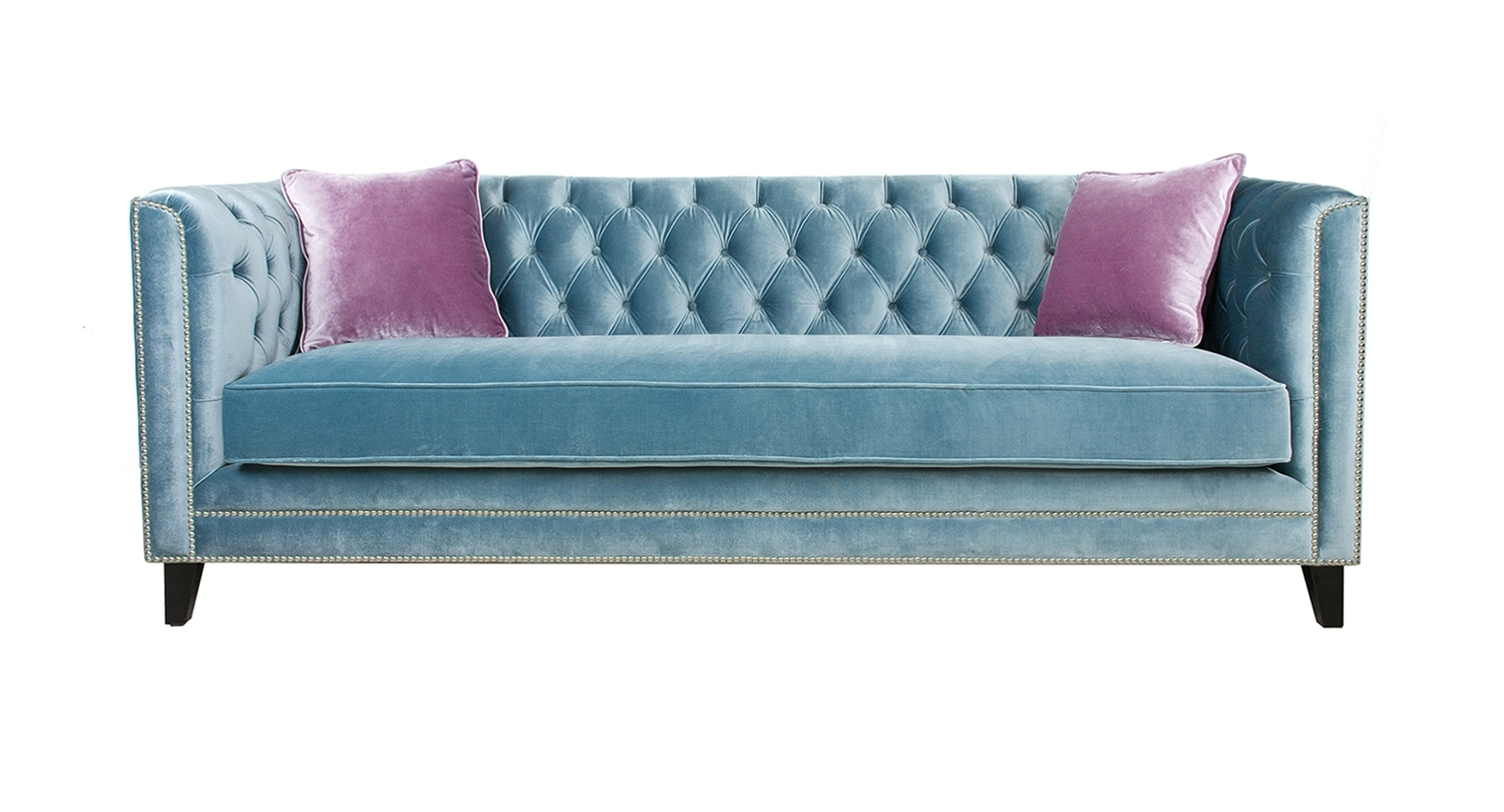 Aqua Sofas Regarding Most Recently Released Sofas – Categories – Pasargad Carpets (View 7 of 20)