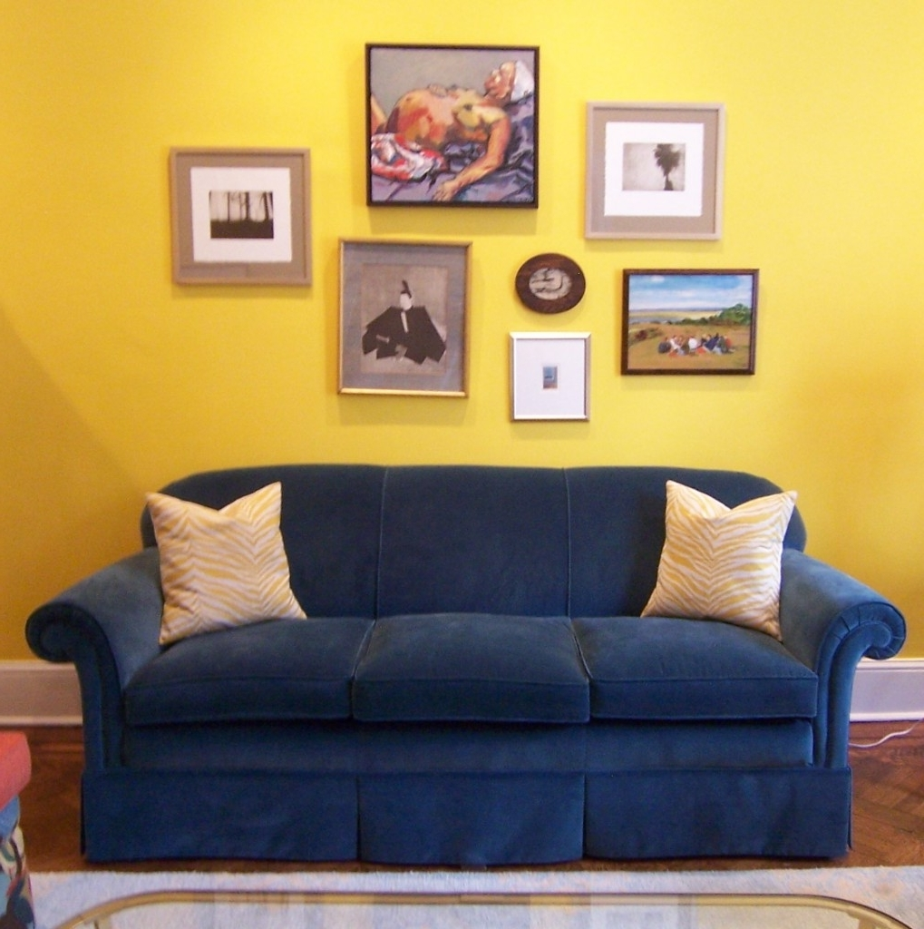 Art Throughout Most Up To Date Yellow Sofa Chairs (View 4 of 20)