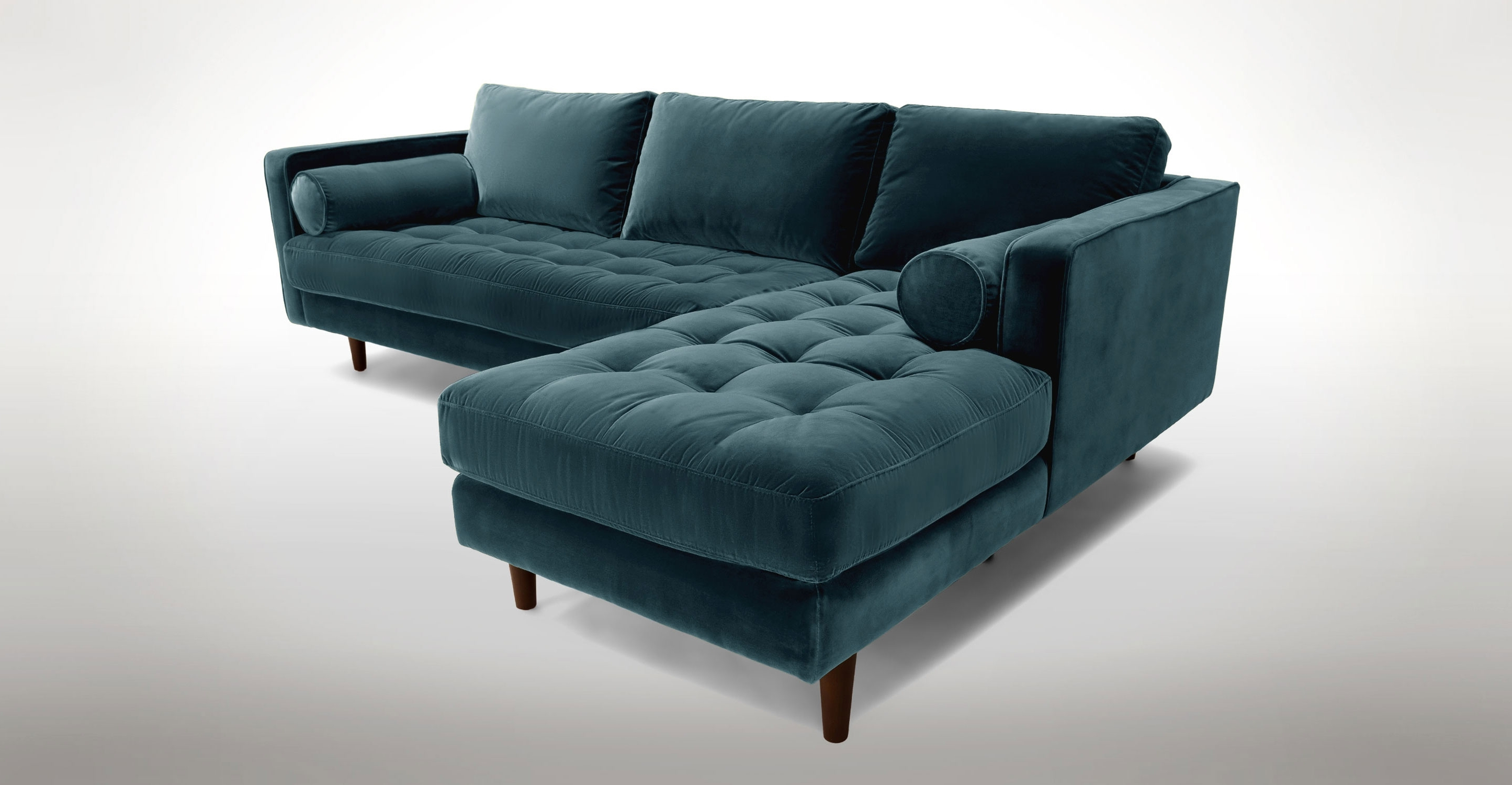 Article Sven Modern Pertaining To 2019 Green Sectional Sofas (View 7 of 20)
