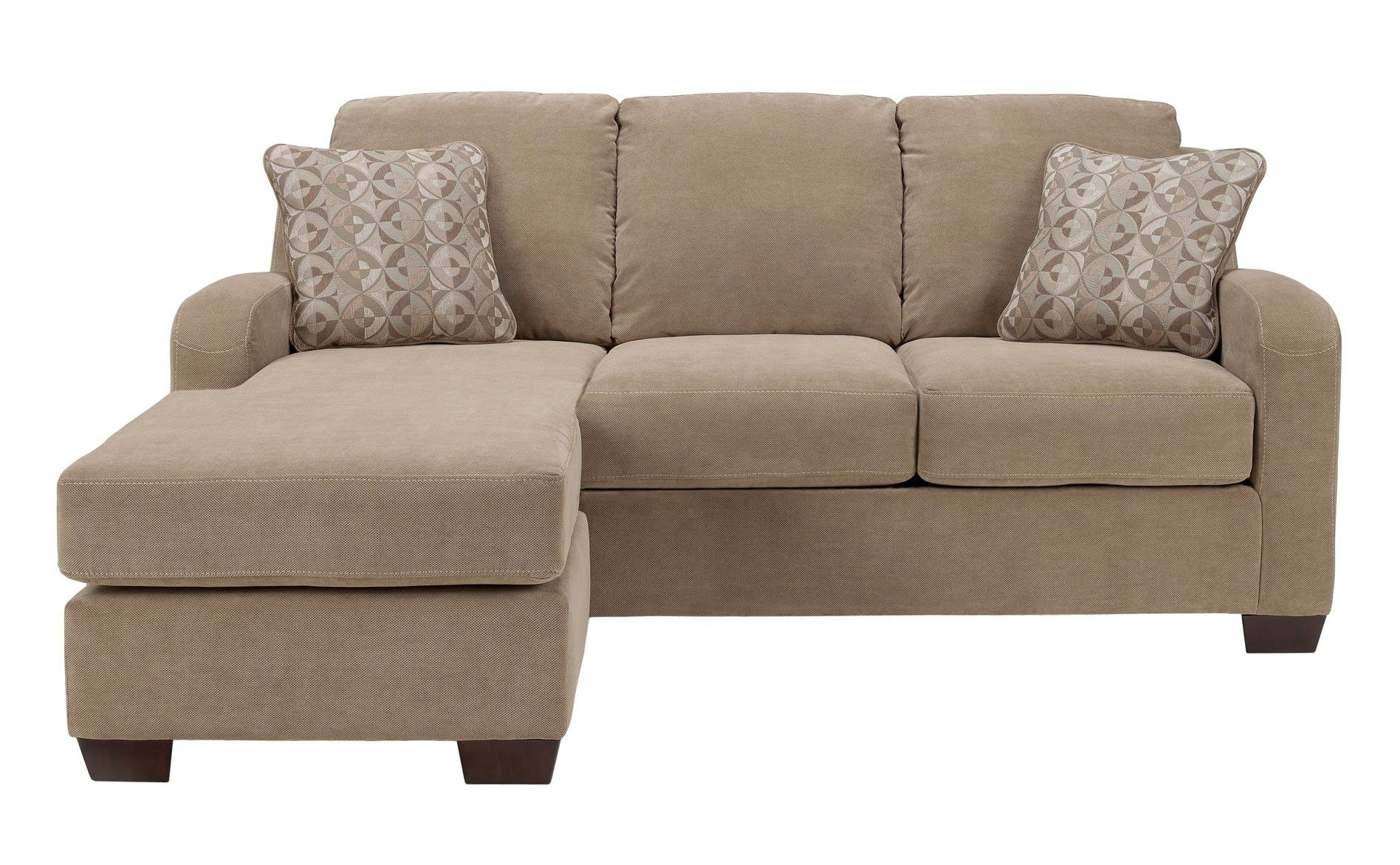 Ashley Circa Sofa Chaise – Taupe Throughout Preferred Raleigh Sectional Sofas (View 4 of 20)