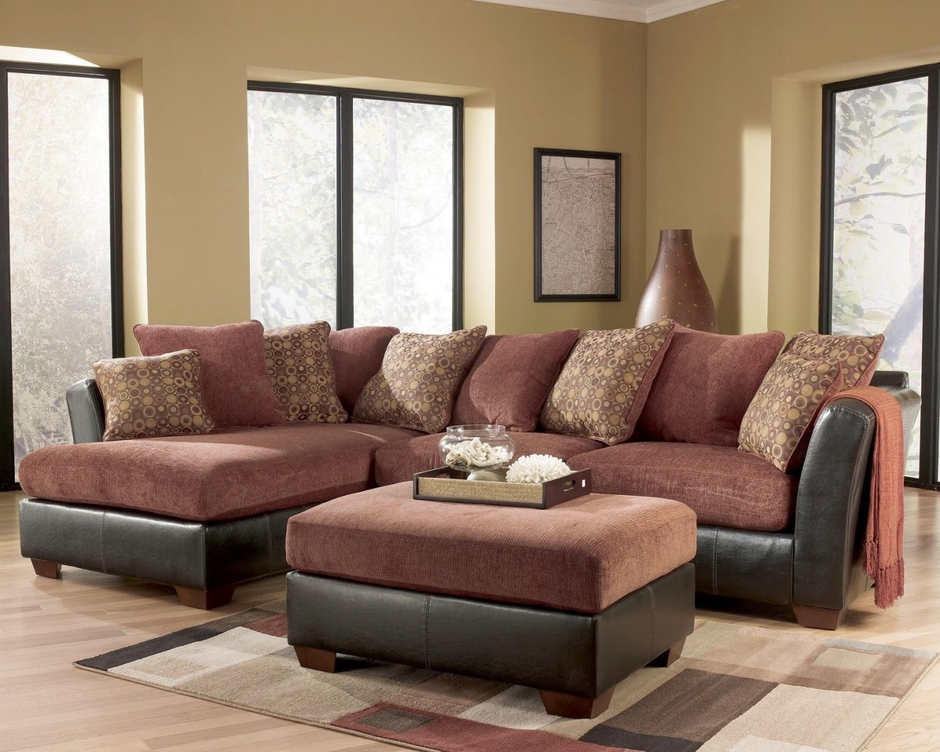 Ashley Furniture Sectional Sofa #2 Ashley Furniture – Larson 31400 Within Favorite Royal Furniture Sectional Sofas (View 10 of 20)