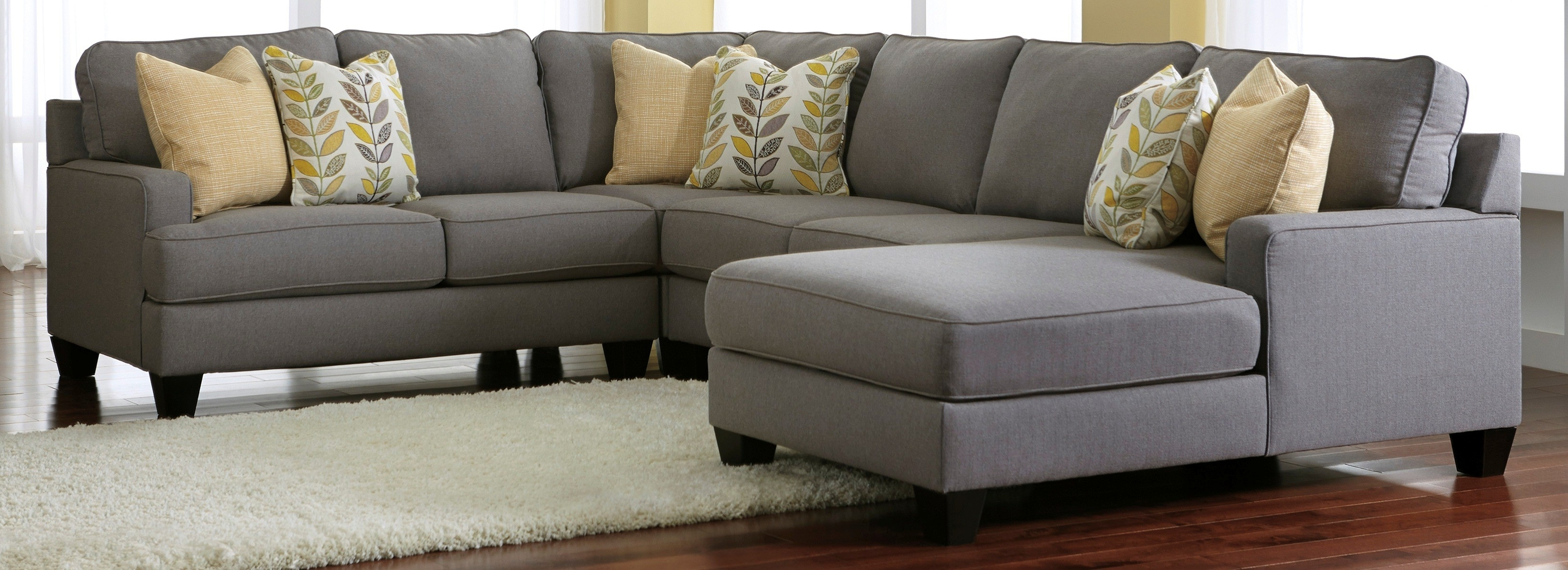 Ashley Tufted Sofas For Most Current Ashley Furniture Sectional Sofa (View 5 of 20)