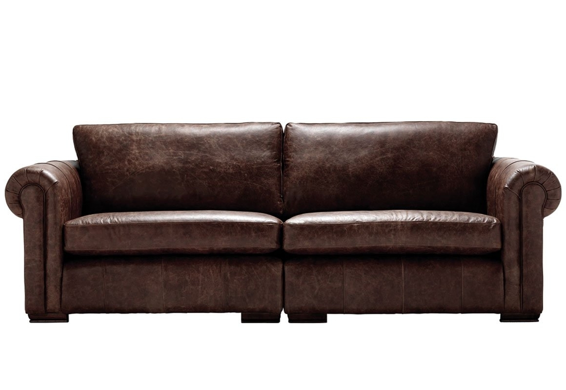 Aspen Leather Sofas Within Current Aspen 4 Seater Leather Sofa – Thomas Lloyd (View 7 of 20)