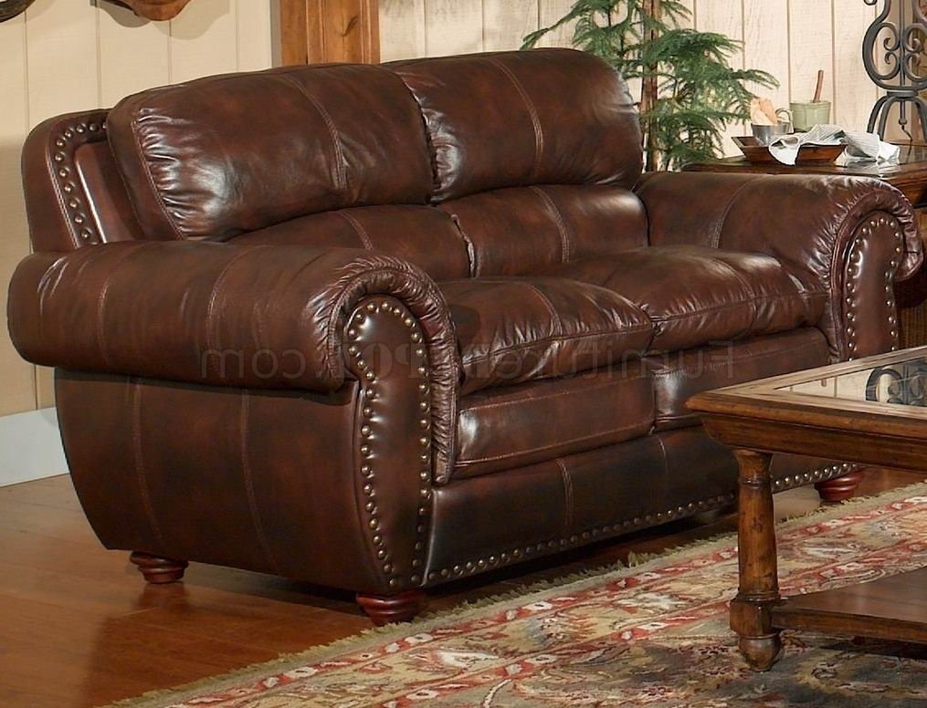 Aspen Sectional Leather Sofa With Ottoman Sam S Club (View 1 of 20)