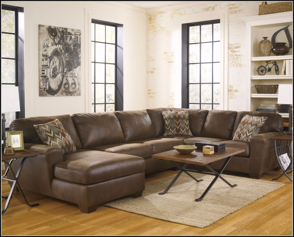 Astonishing Faux Leather Sectional Sofas 14 With Additional Inside Recent