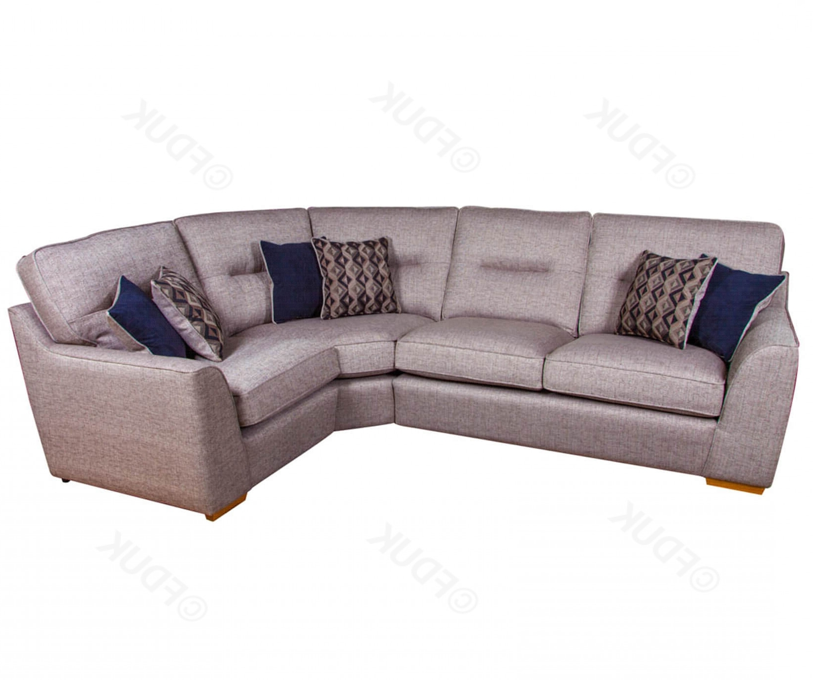 Avalon Fabric Corner Sofa Set (View 3 of 20)
