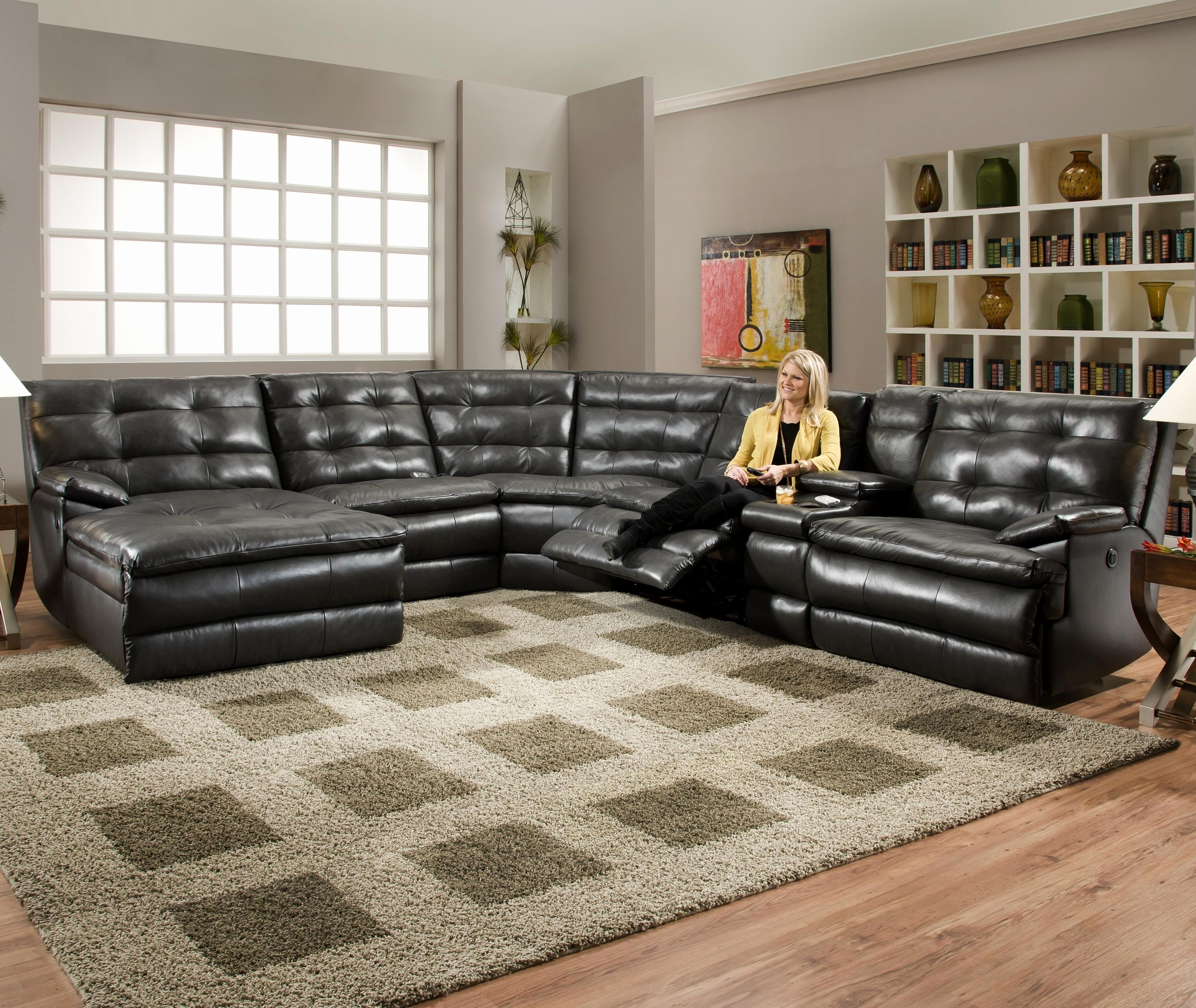 Awesome Modern Curved Sectional Sofa 2018 – Couches Ideas For Latest Curved Sectional Sofas With Recliner (View 2 of 20)