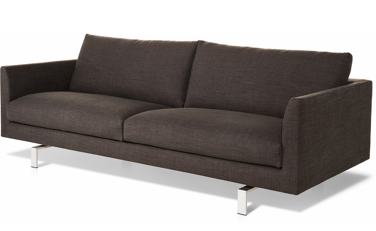 Axel 3 Seat Sofa – Hivemodern In Well Known Modern 3 Seater Sofas (View 1 of 20)