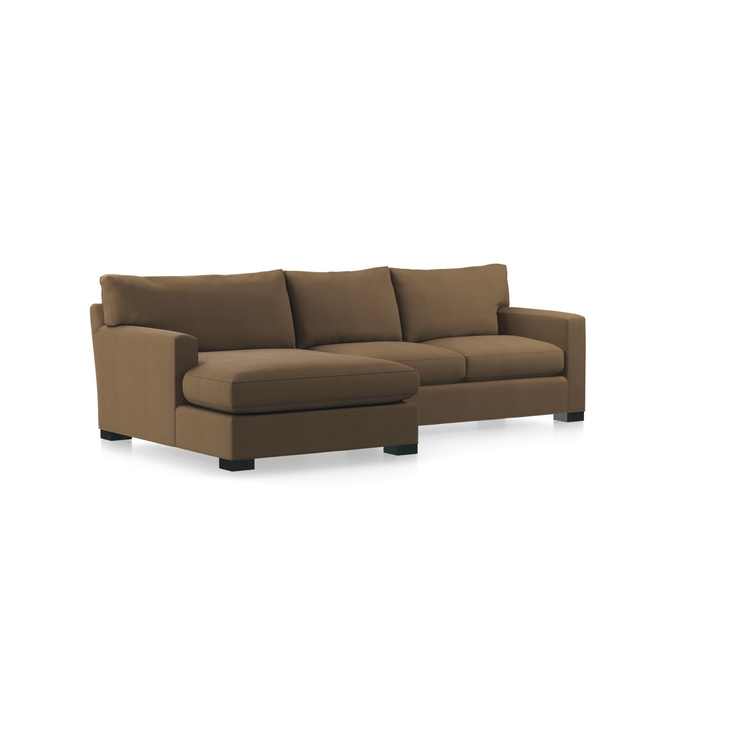 Axis Ii 2 Piece Right Arm Double Chaise Sectional Sofa In Axis With Most Up To Date Angled Chaise Sofas (View 10 of 20)