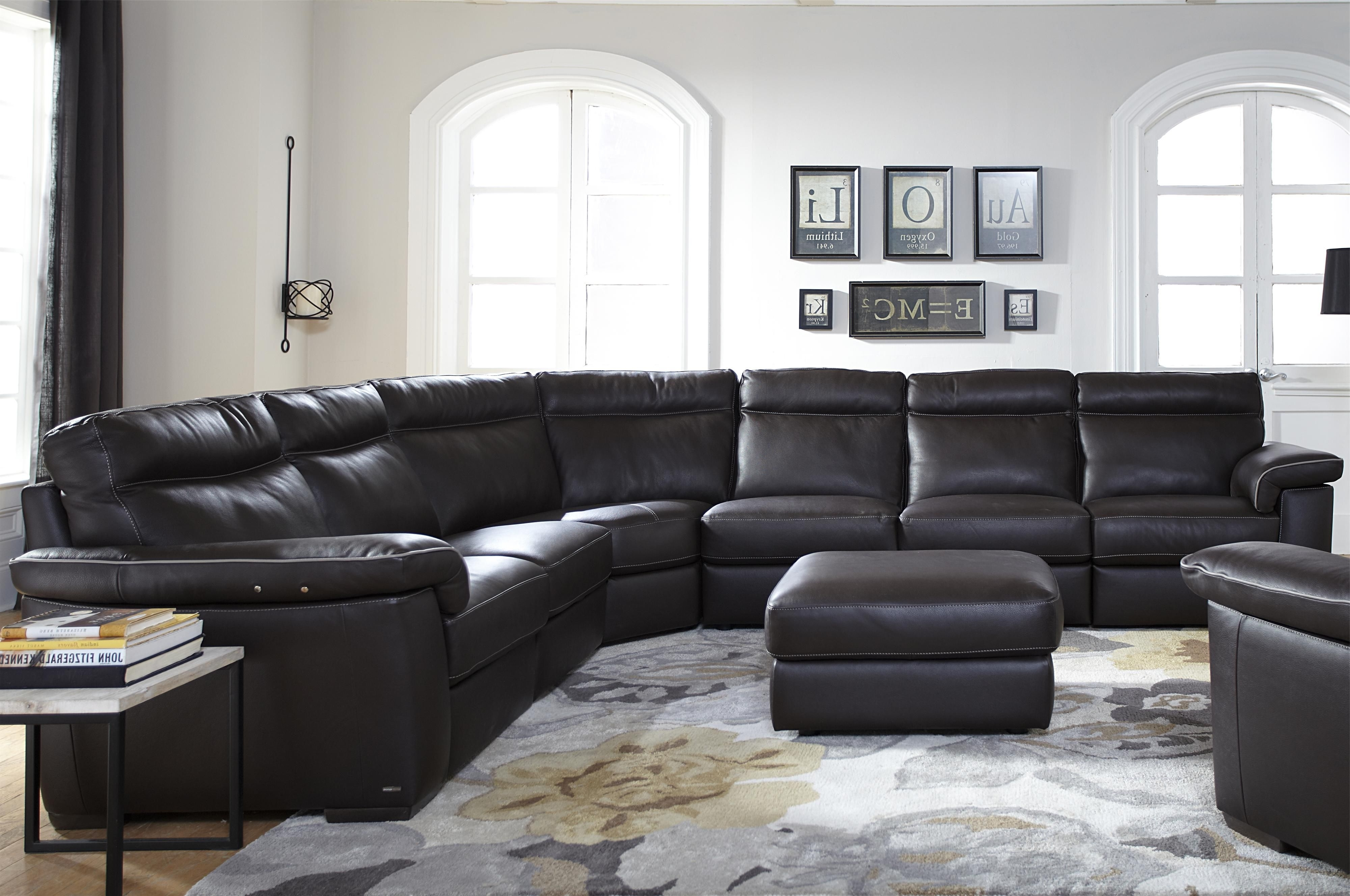 B757 Four Piece Power Reclining Sectional Sofa With Padded With Fashionable Killeen Tx Sectional Sofas (View 3 of 20)