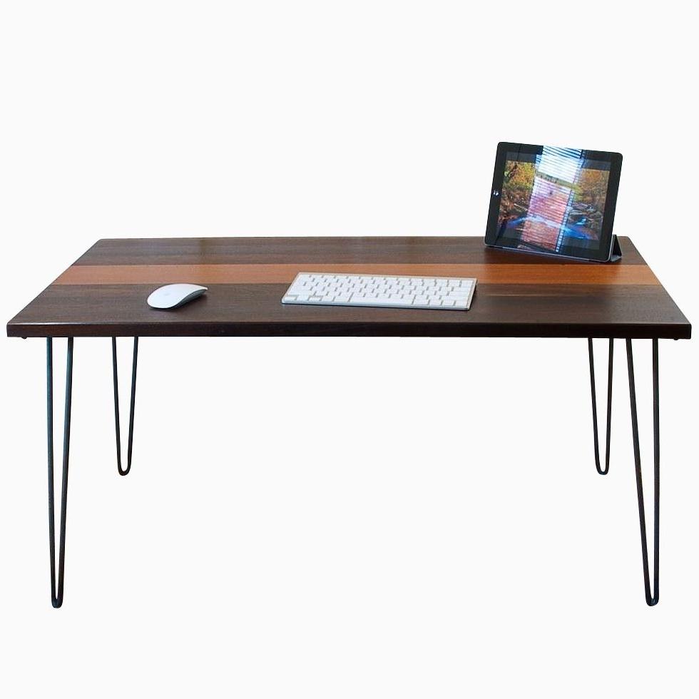 Barnwood Desks (View 15 of 20)