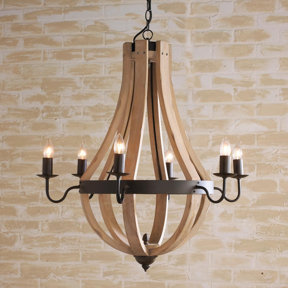 Barrels, Chandeliers And Wine For Wooden Chandeliers (View 18 of 20)