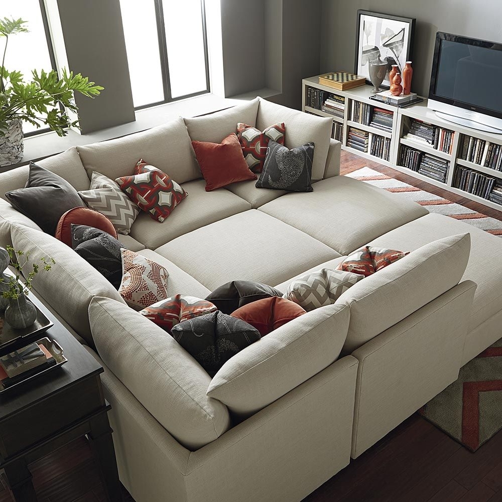 Basements, Living Rooms And Room For Sectional Sofas That Can Be Rearranged (View 7 of 20)