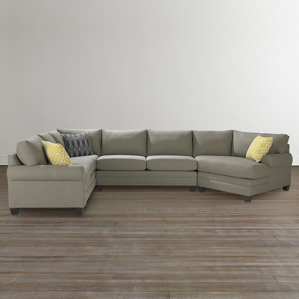 Featured Photo of Cuddler Sectional Sofas