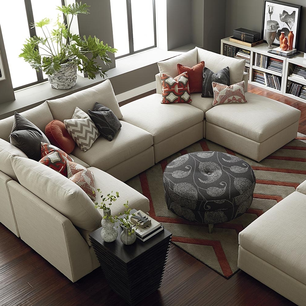 Bassett Home Furnishings Inside Widely Used U Shaped Sectionals (View 3 of 20)