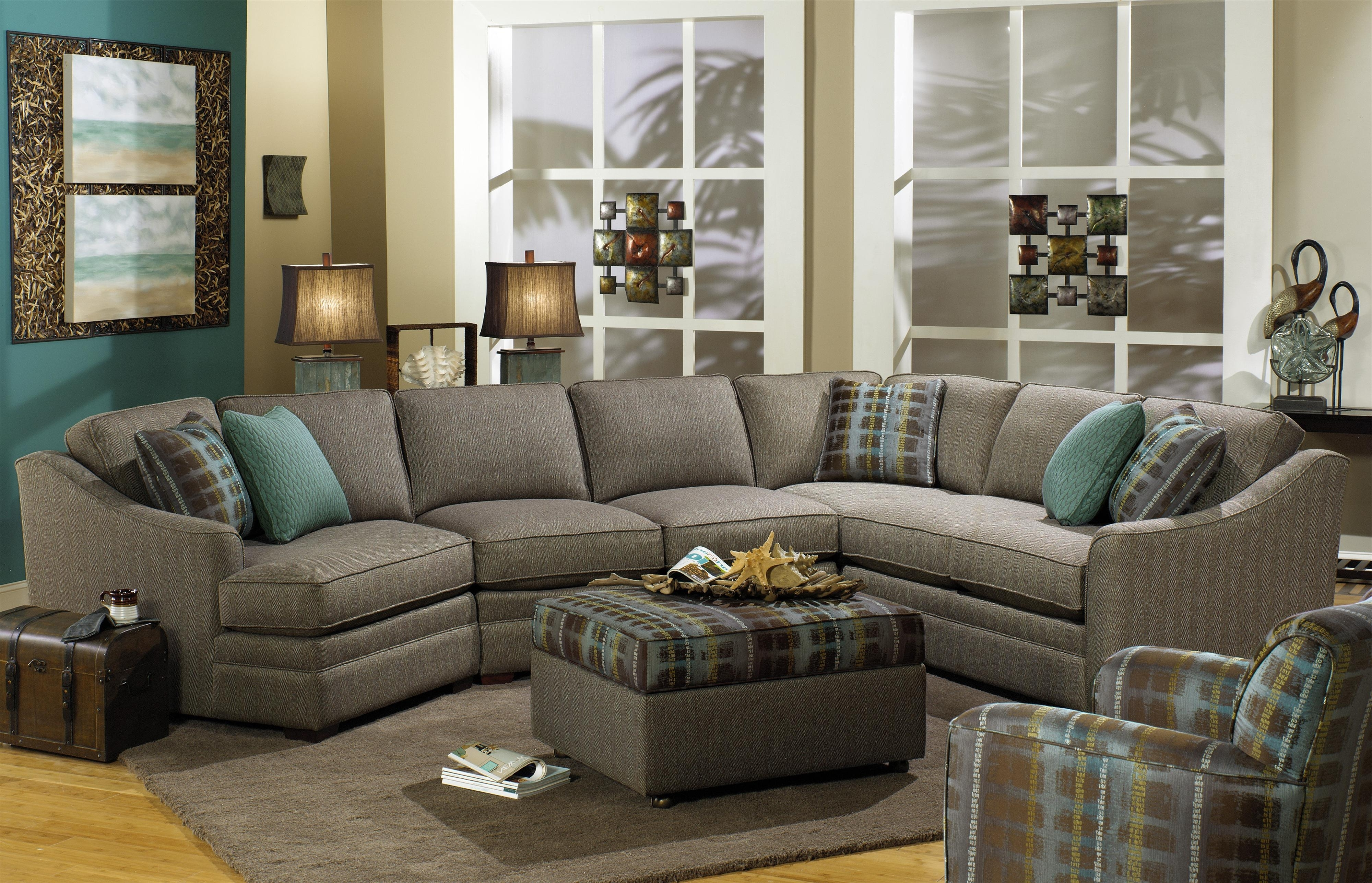 B>Customizable</b> 3 Piece Sectional With Raf Cuddler In Famous Sectional Sofas With Cuddler (View 2 of 20)