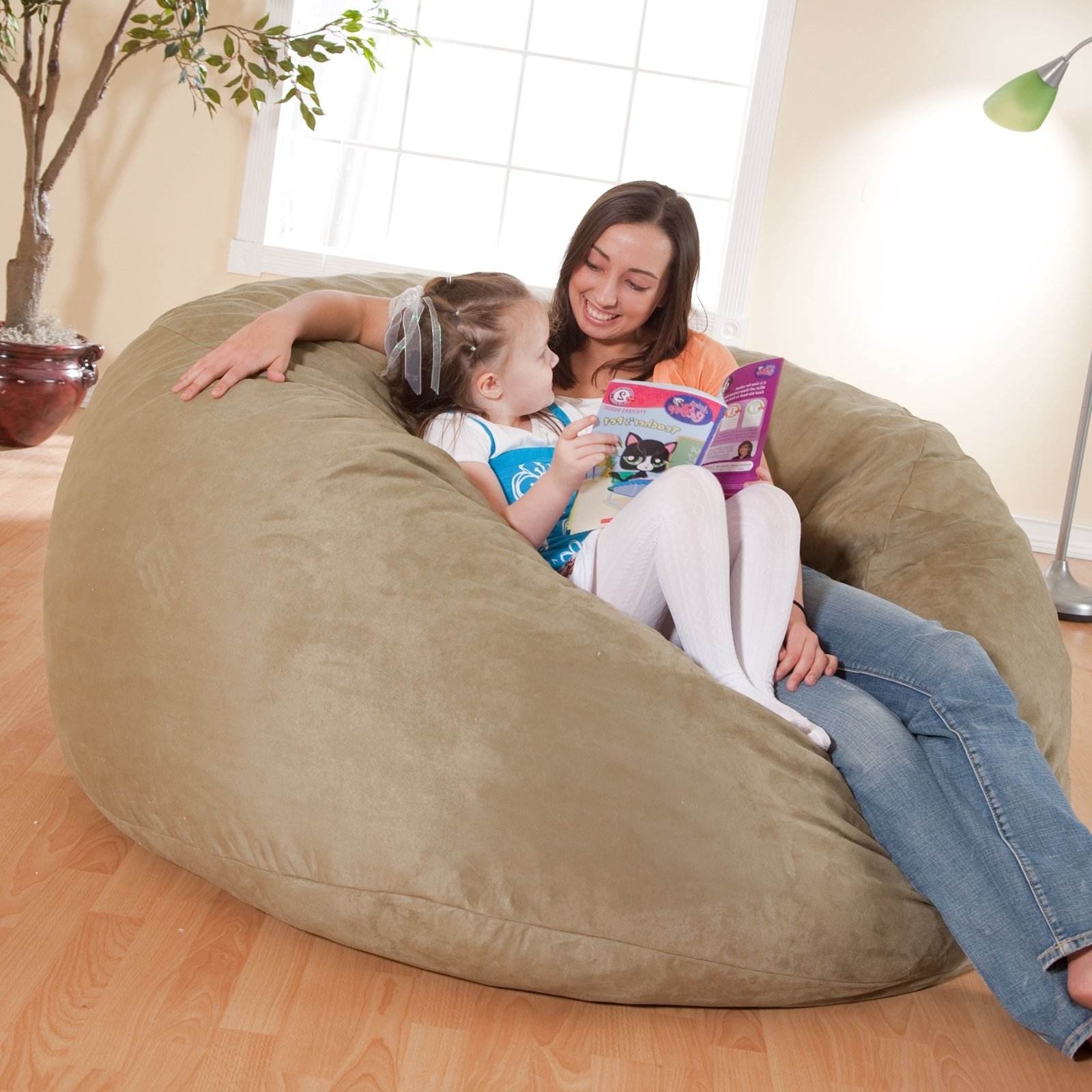 Bean Bag Sofas And Chairs Throughout Fashionable Fuf 5 Ft (View 7 of 20)