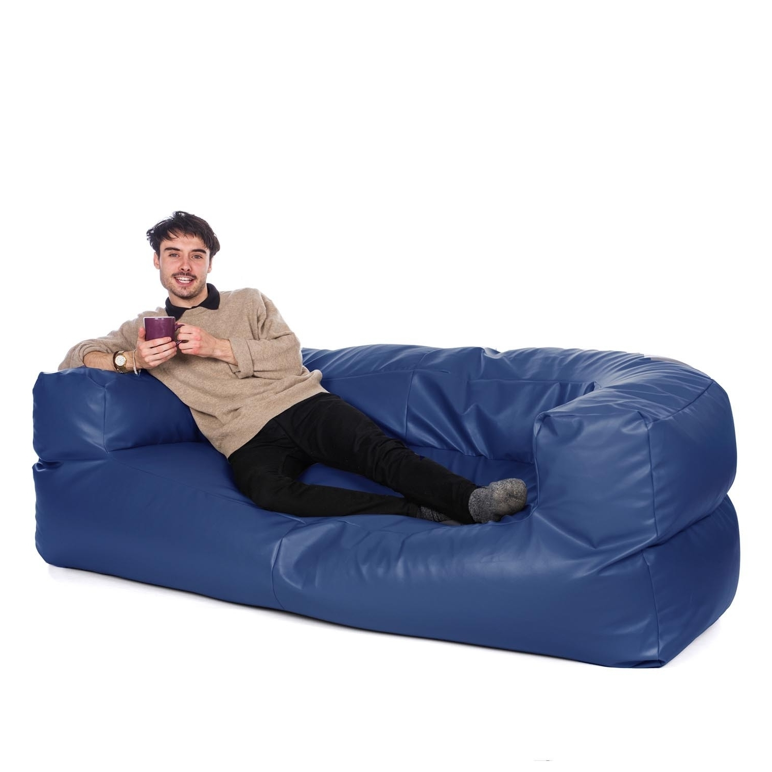 Bean Bag Sofas With Regard To Well Known Faux Leather Sofa