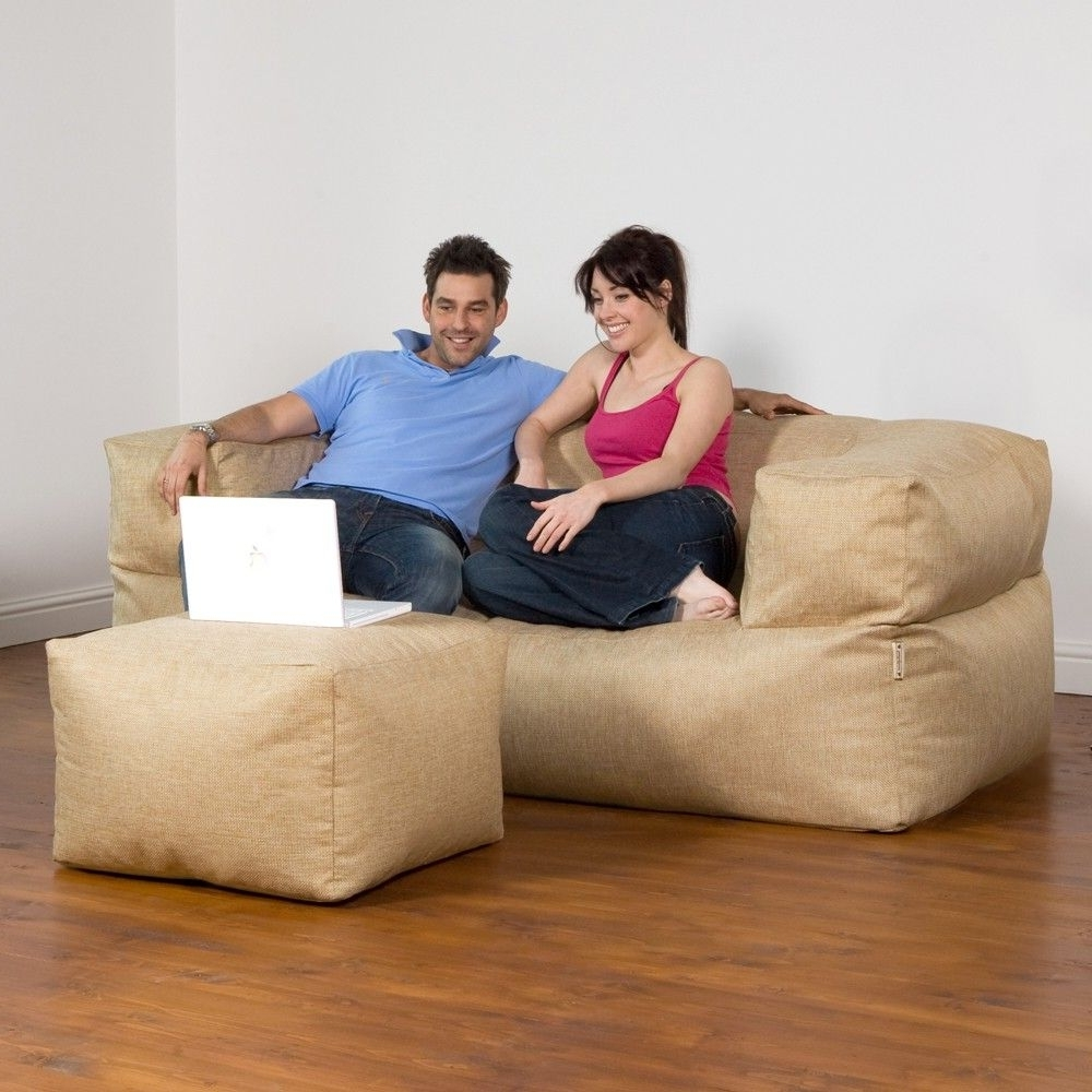 Bean Bag Sofas With Well Liked Beanbag Sofa (View 7 of 20)